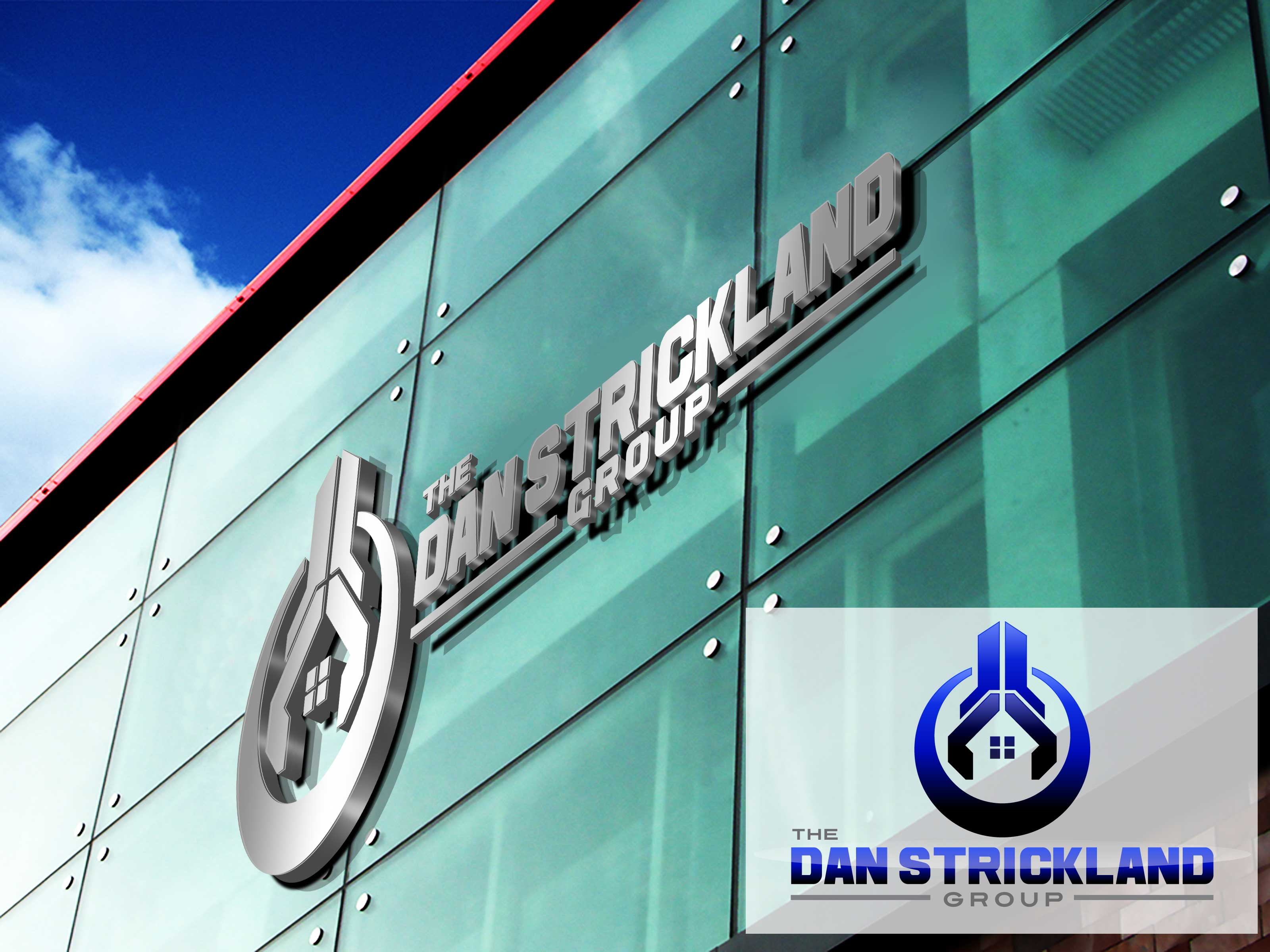 Logo Design by lagalag - Entry No. 281 in the Logo Design Contest Creative Logo Design for The Dan Strickland Group.