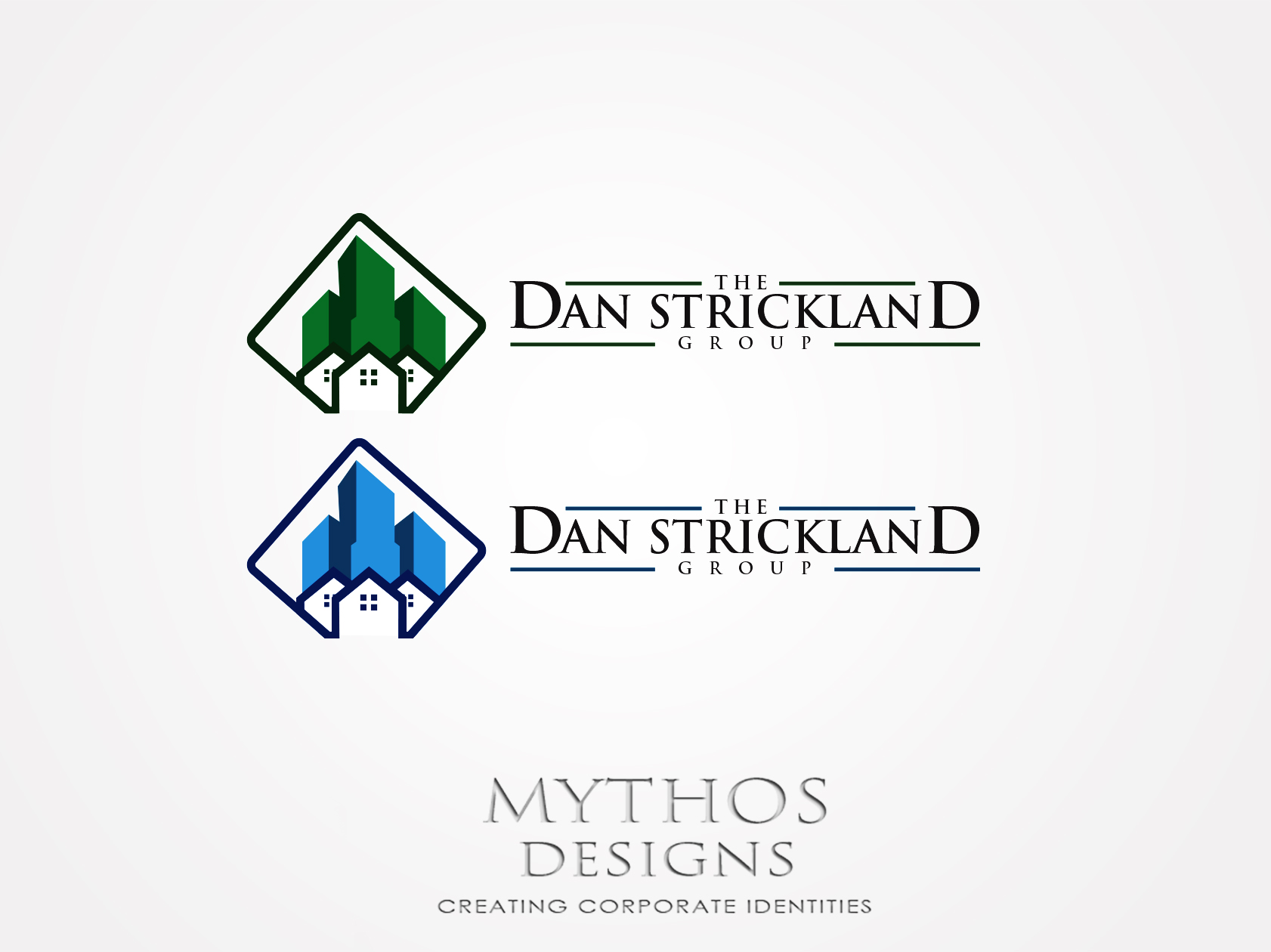 Logo Design by Mythos Designs - Entry No. 283 in the Logo Design Contest Creative Logo Design for The Dan Strickland Group.