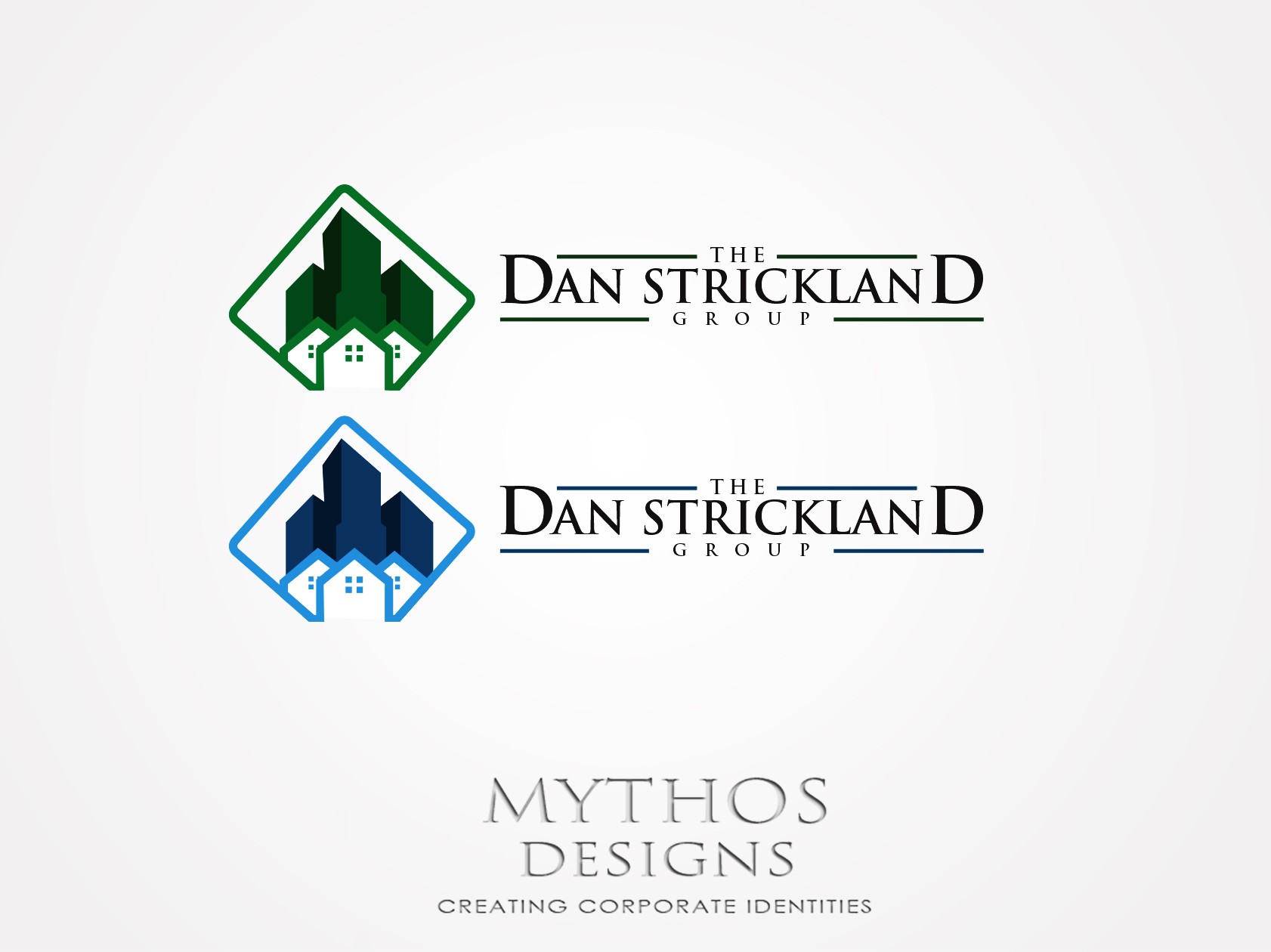 Logo Design by Mythos Designs - Entry No. 284 in the Logo Design Contest Creative Logo Design for The Dan Strickland Group.