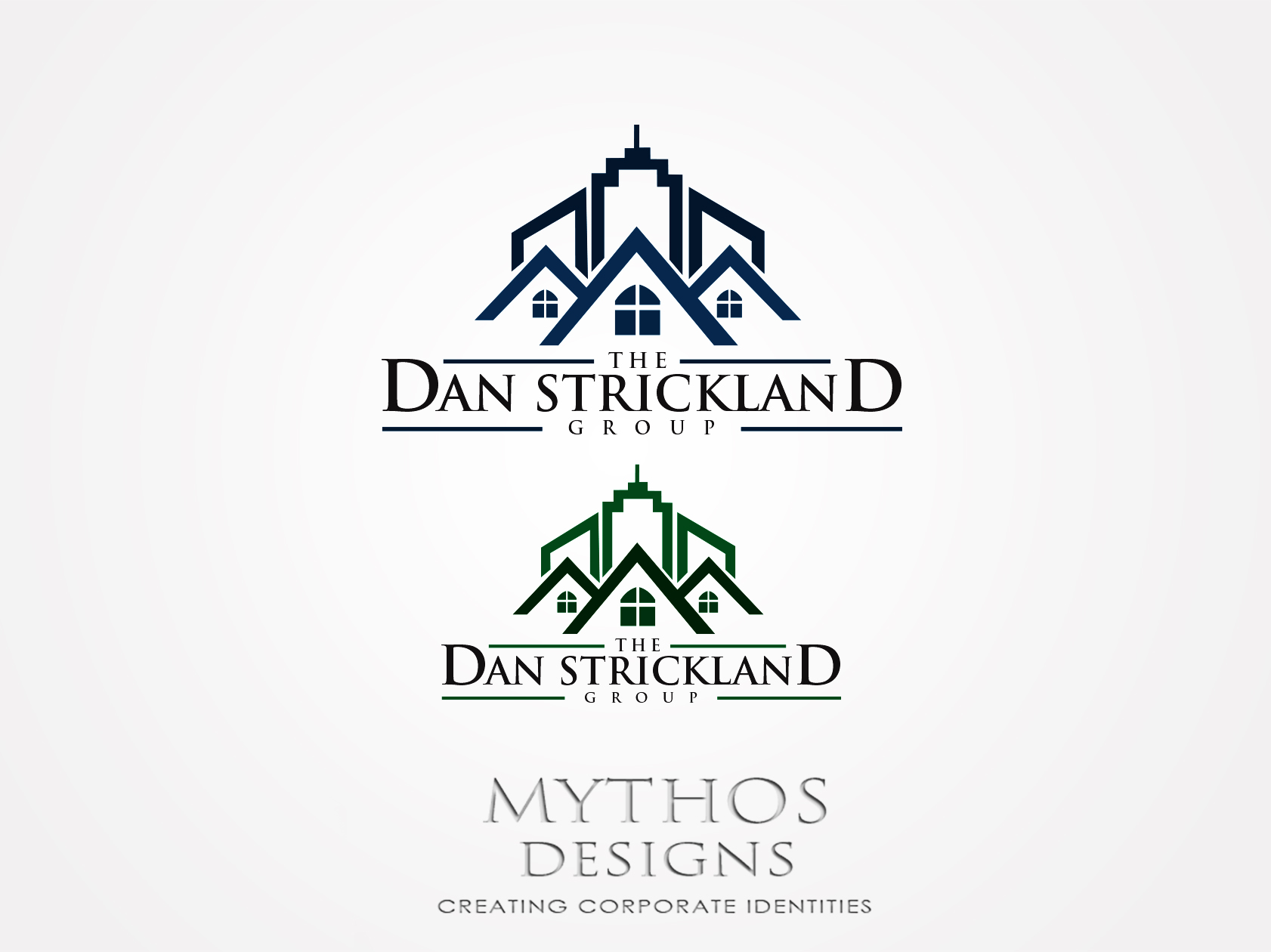 Logo Design by Mythos Designs - Entry No. 288 in the Logo Design Contest Creative Logo Design for The Dan Strickland Group.