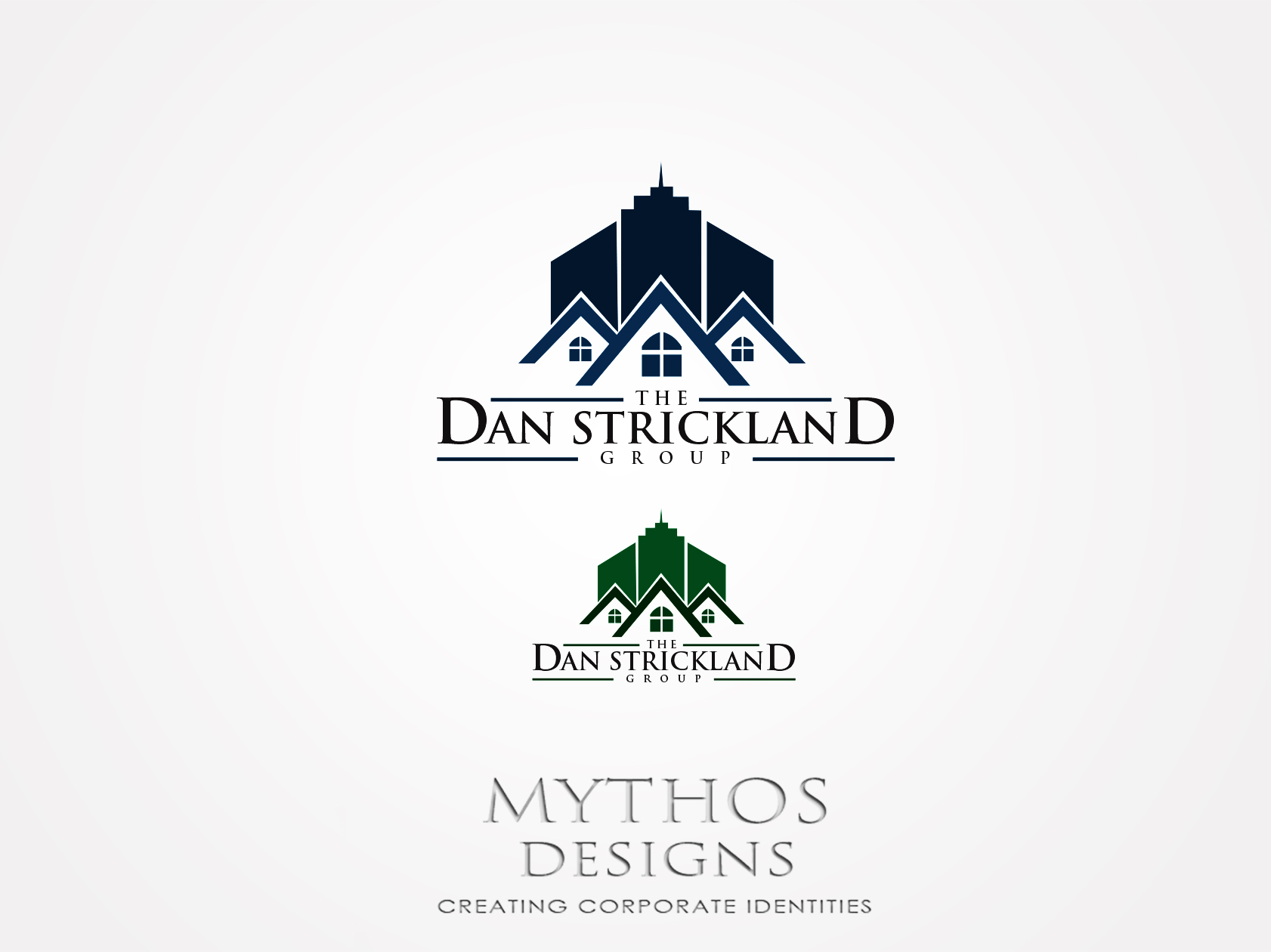 Logo Design by Mythos Designs - Entry No. 289 in the Logo Design Contest Creative Logo Design for The Dan Strickland Group.