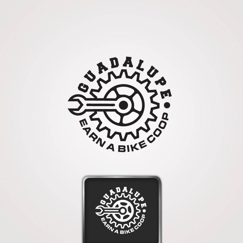 Logo Design by Private User - Entry No. 38 in the Logo Design Contest Inspiring Logo Design for Guadalupe Earn a Bike Coop..