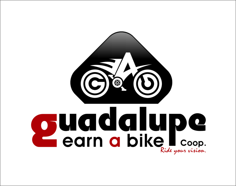 Logo Design by RasYa Muhammad Athaya - Entry No. 39 in the Logo Design Contest Inspiring Logo Design for Guadalupe Earn a Bike Coop..