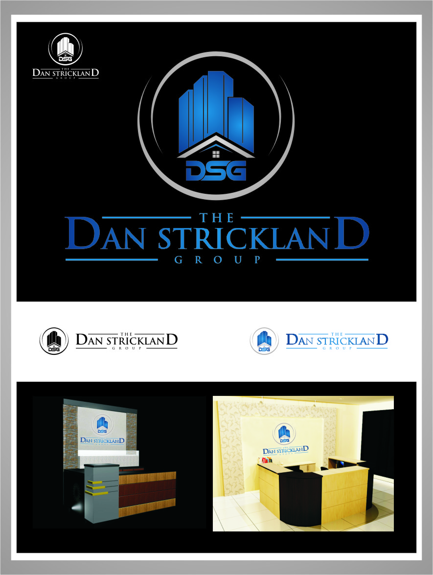Logo Design by Ngepet_art - Entry No. 296 in the Logo Design Contest Creative Logo Design for The Dan Strickland Group.