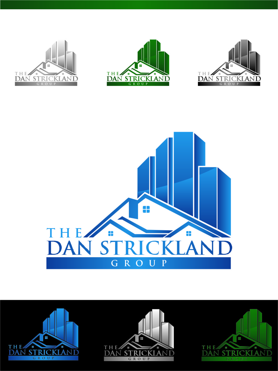 Logo Design by Ngepet_art - Entry No. 304 in the Logo Design Contest Creative Logo Design for The Dan Strickland Group.