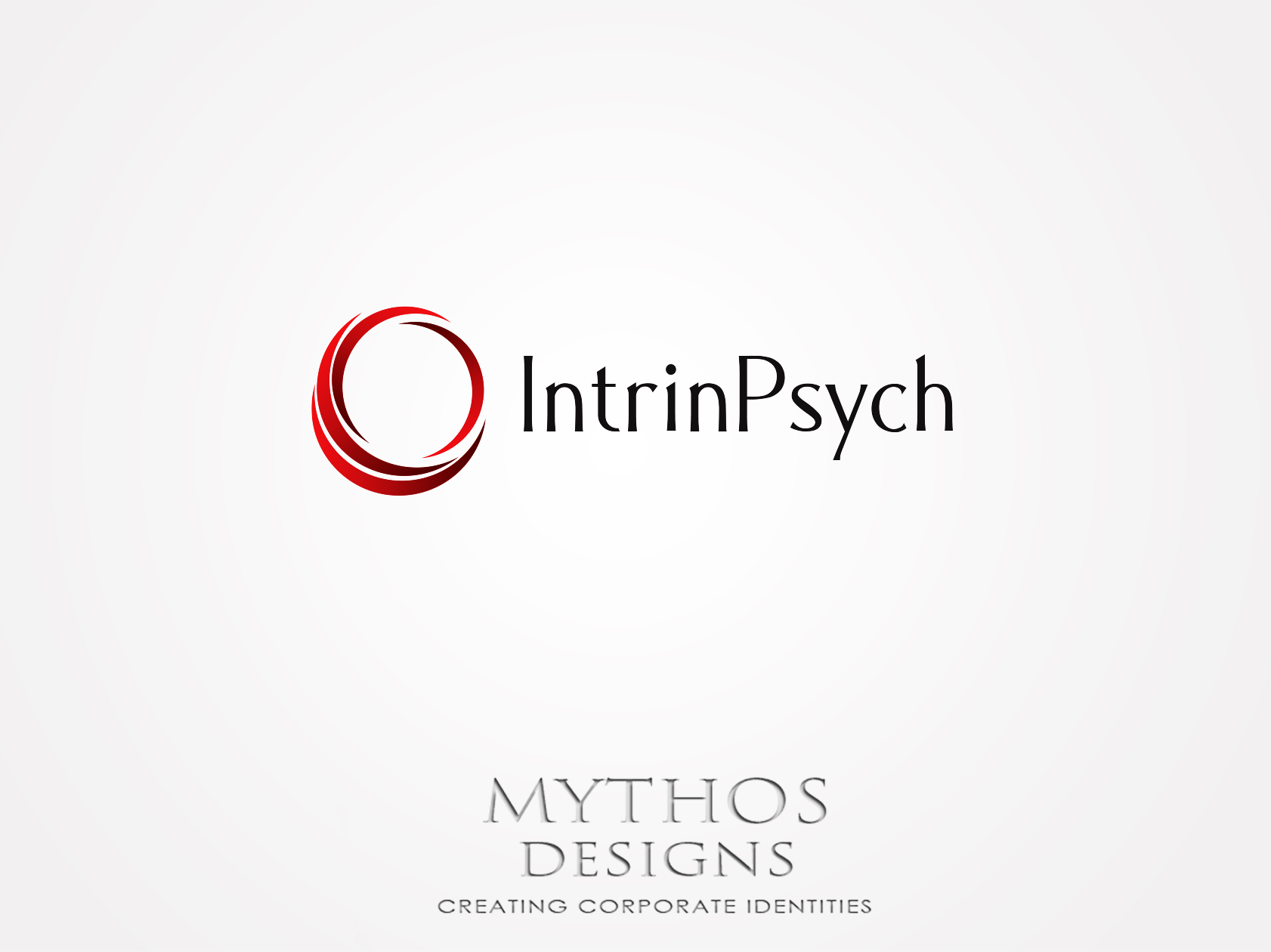 Logo Design by Mythos Designs - Entry No. 5 in the Logo Design Contest New Logo Design for IntrinPsych.