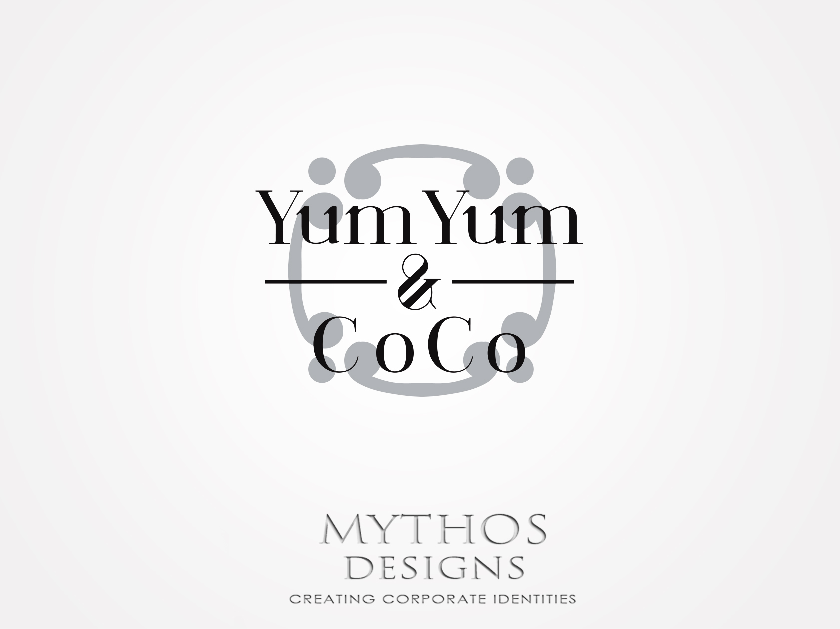 Logo Design by Mythos Designs - Entry No. 1 in the Logo Design Contest Logo Design for YumYum & CoCo.