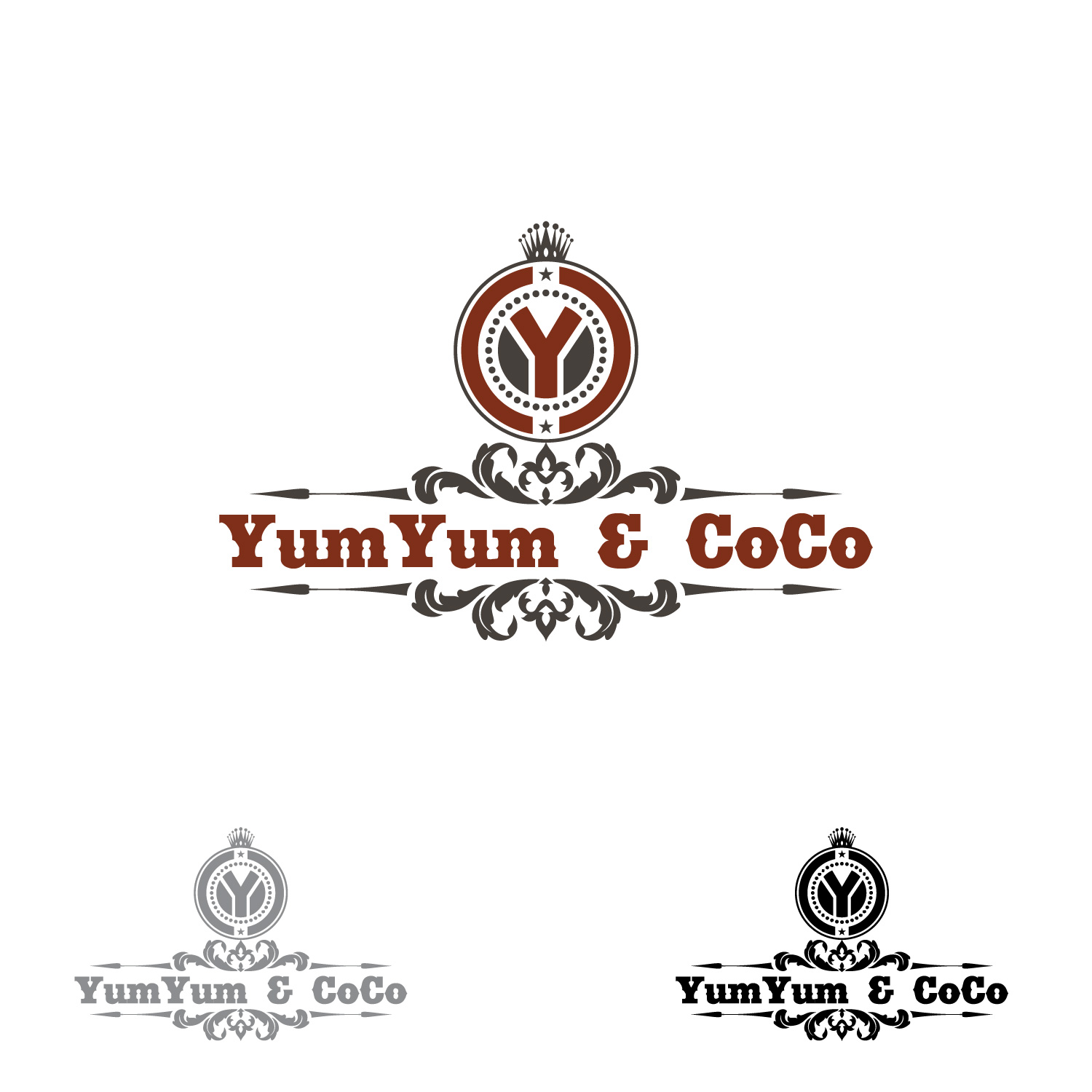 Logo Design by lagalag - Entry No. 2 in the Logo Design Contest Logo Design for YumYum & CoCo.