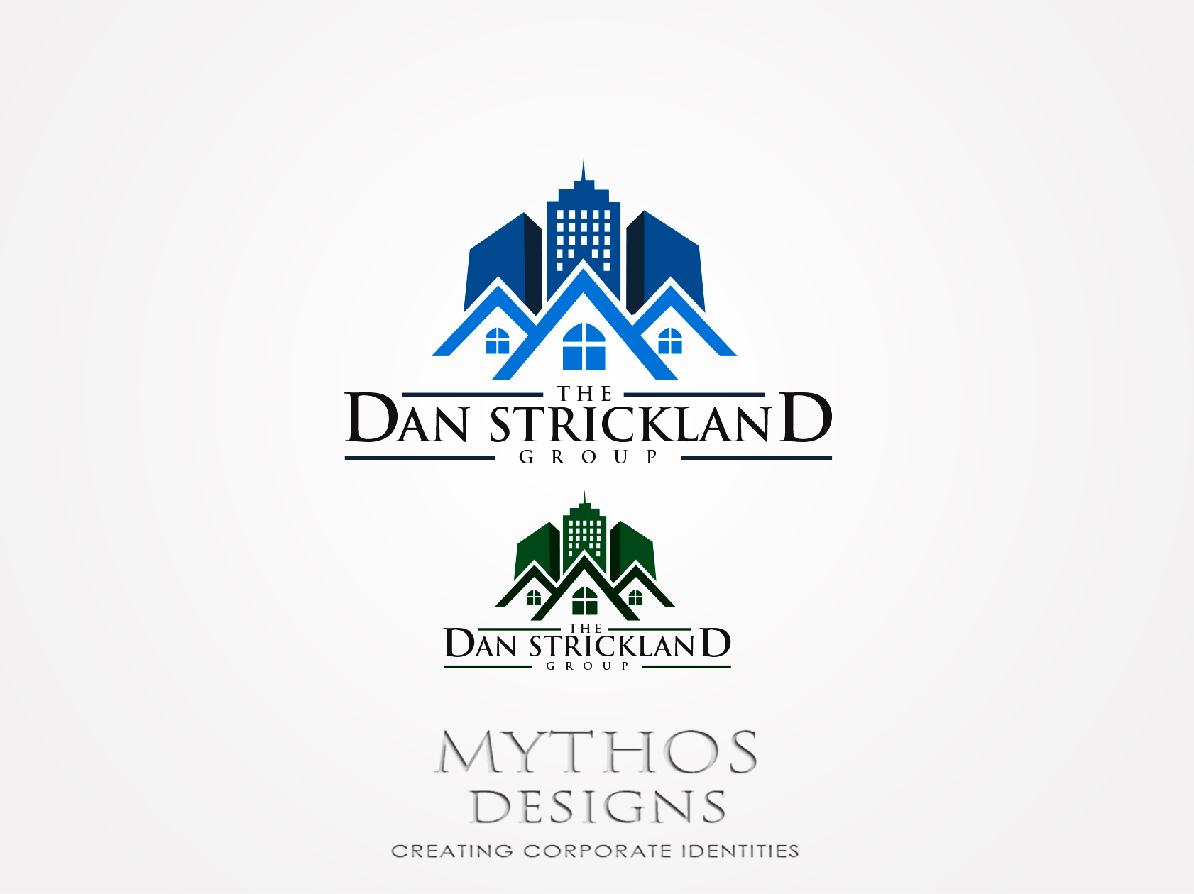 Logo Design by Mythos Designs - Entry No. 314 in the Logo Design Contest Creative Logo Design for The Dan Strickland Group.