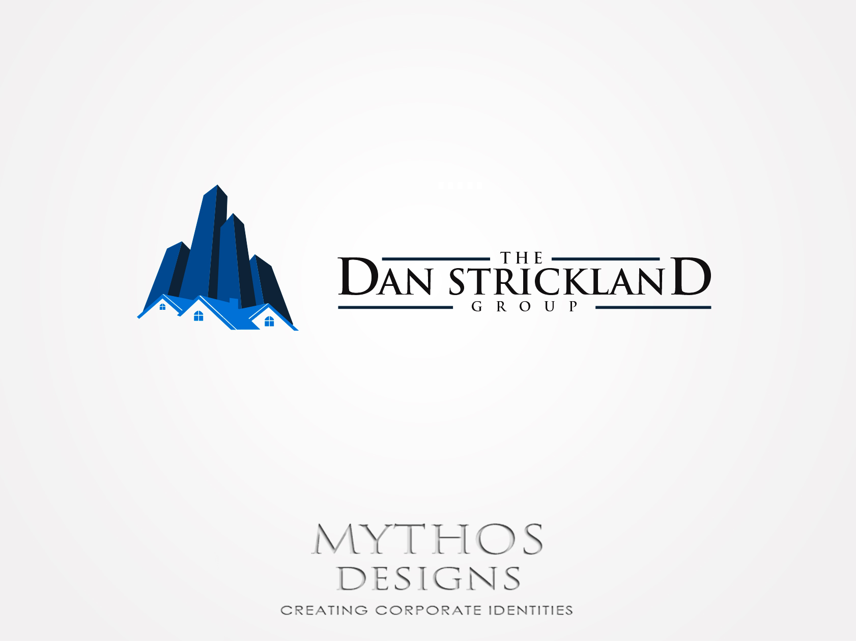 Logo Design by Mythos Designs - Entry No. 318 in the Logo Design Contest Creative Logo Design for The Dan Strickland Group.