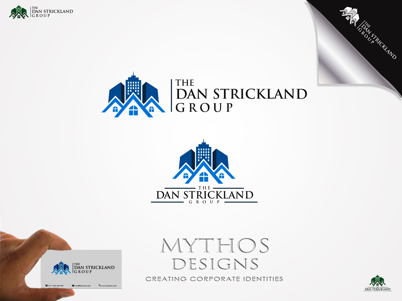 Logo Design by Mythos Designs - Entry No. 320 in the Logo Design Contest Creative Logo Design for The Dan Strickland Group.