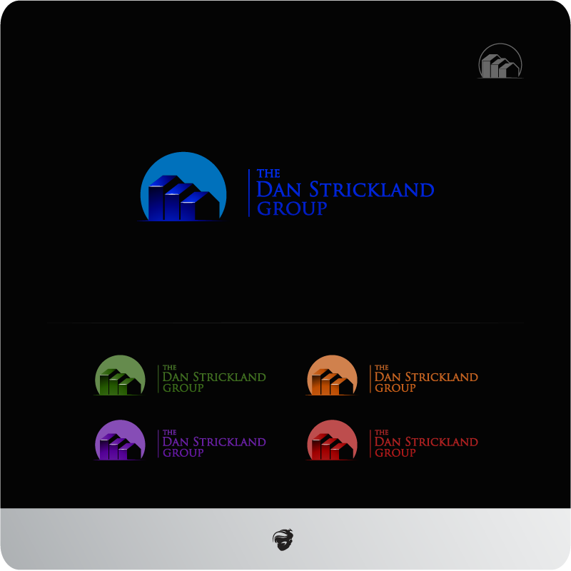 Logo Design by zesthar - Entry No. 322 in the Logo Design Contest Creative Logo Design for The Dan Strickland Group.