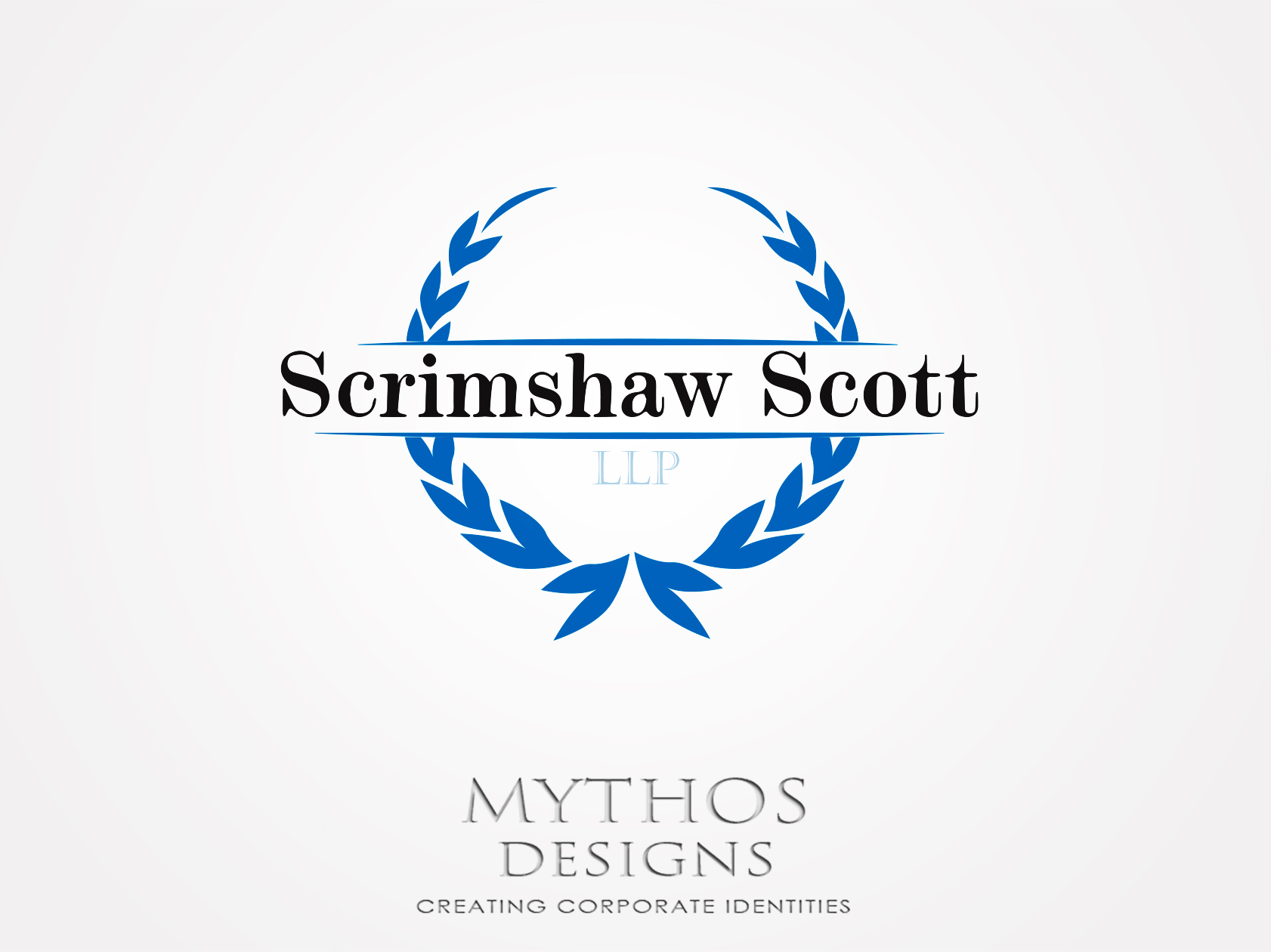 Logo Design by Mythos Designs - Entry No. 44 in the Logo Design Contest Creative Logo Design for Scrimshaw Scott LLP.
