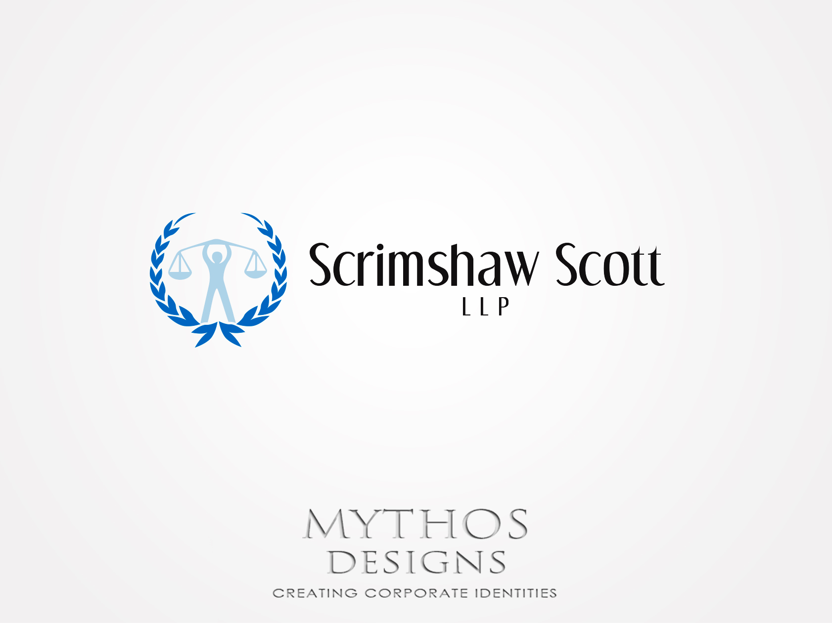 Logo Design by Mythos Designs - Entry No. 45 in the Logo Design Contest Creative Logo Design for Scrimshaw Scott LLP.