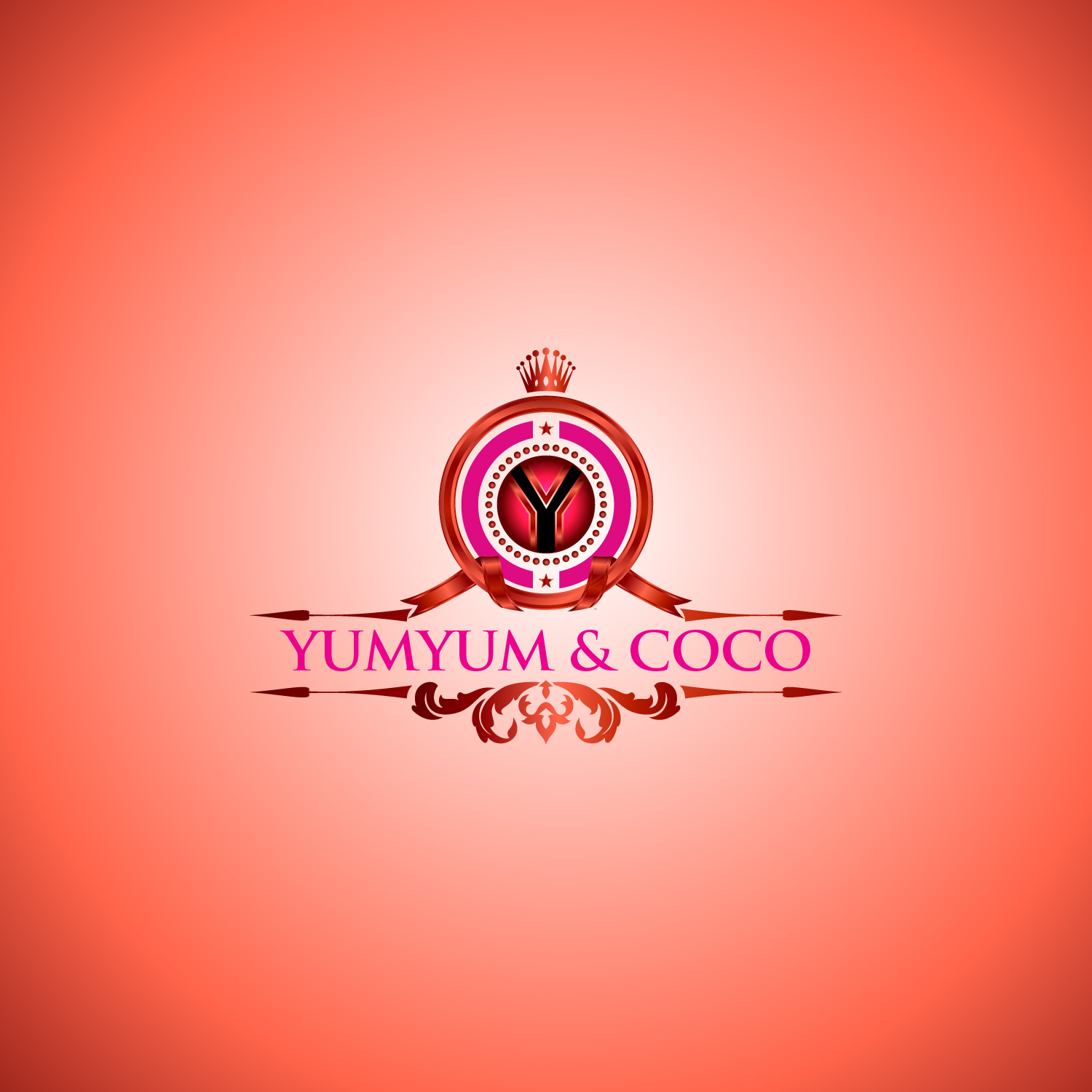 Logo Design by lagalag - Entry No. 5 in the Logo Design Contest Logo Design for YumYum & CoCo.