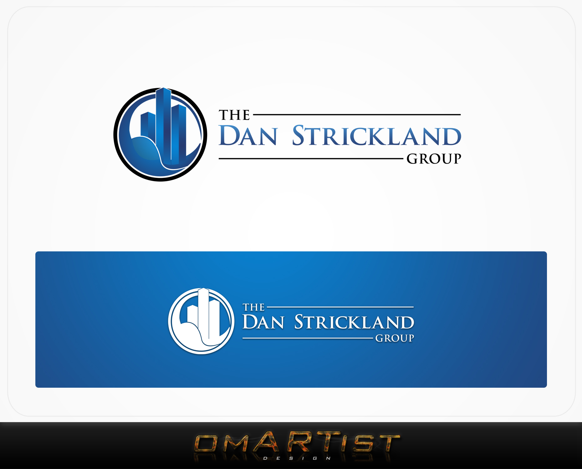 Logo Design by omARTist - Entry No. 330 in the Logo Design Contest Creative Logo Design for The Dan Strickland Group.