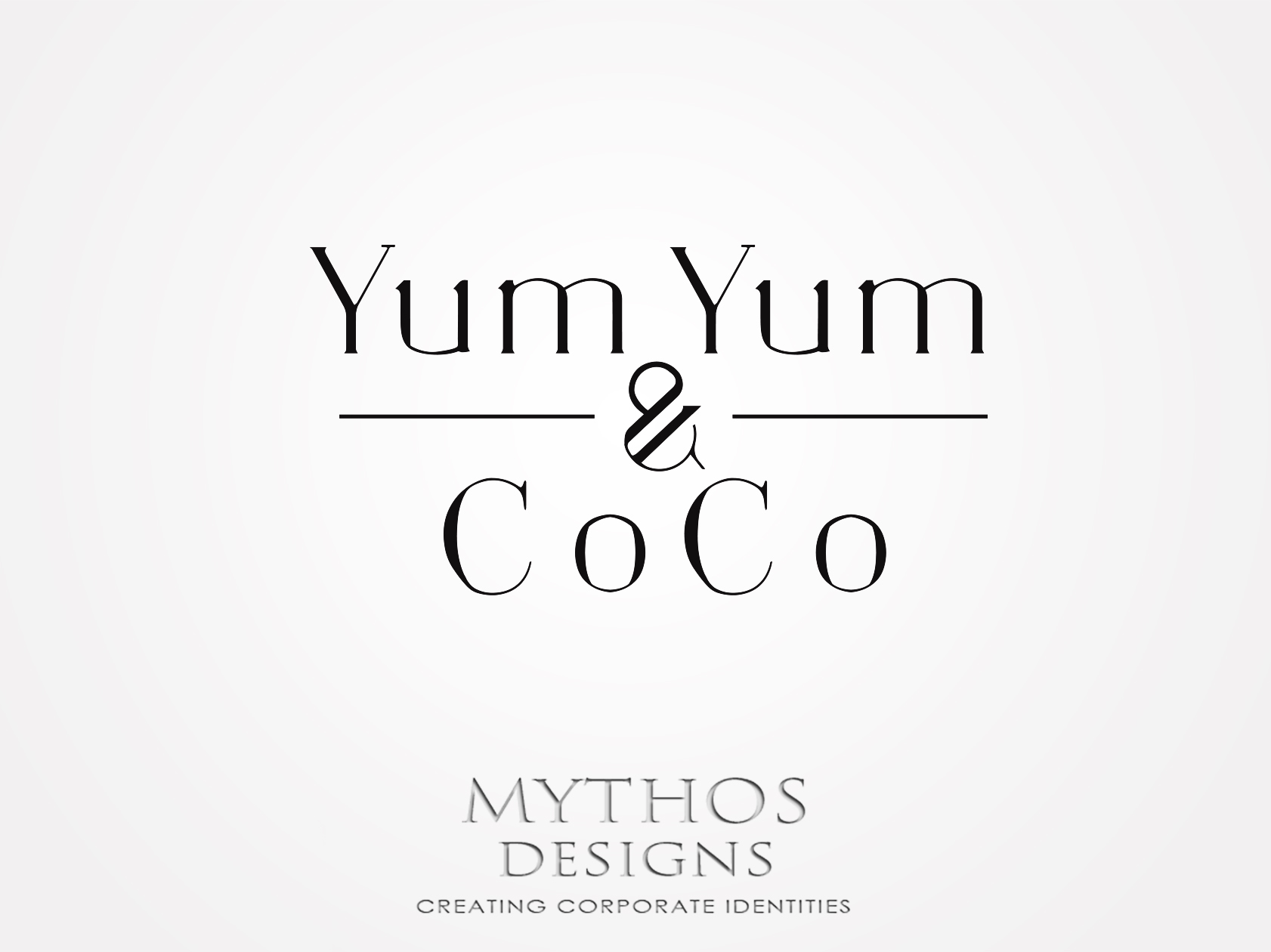Logo Design by Mythos Designs - Entry No. 6 in the Logo Design Contest Logo Design for YumYum & CoCo.