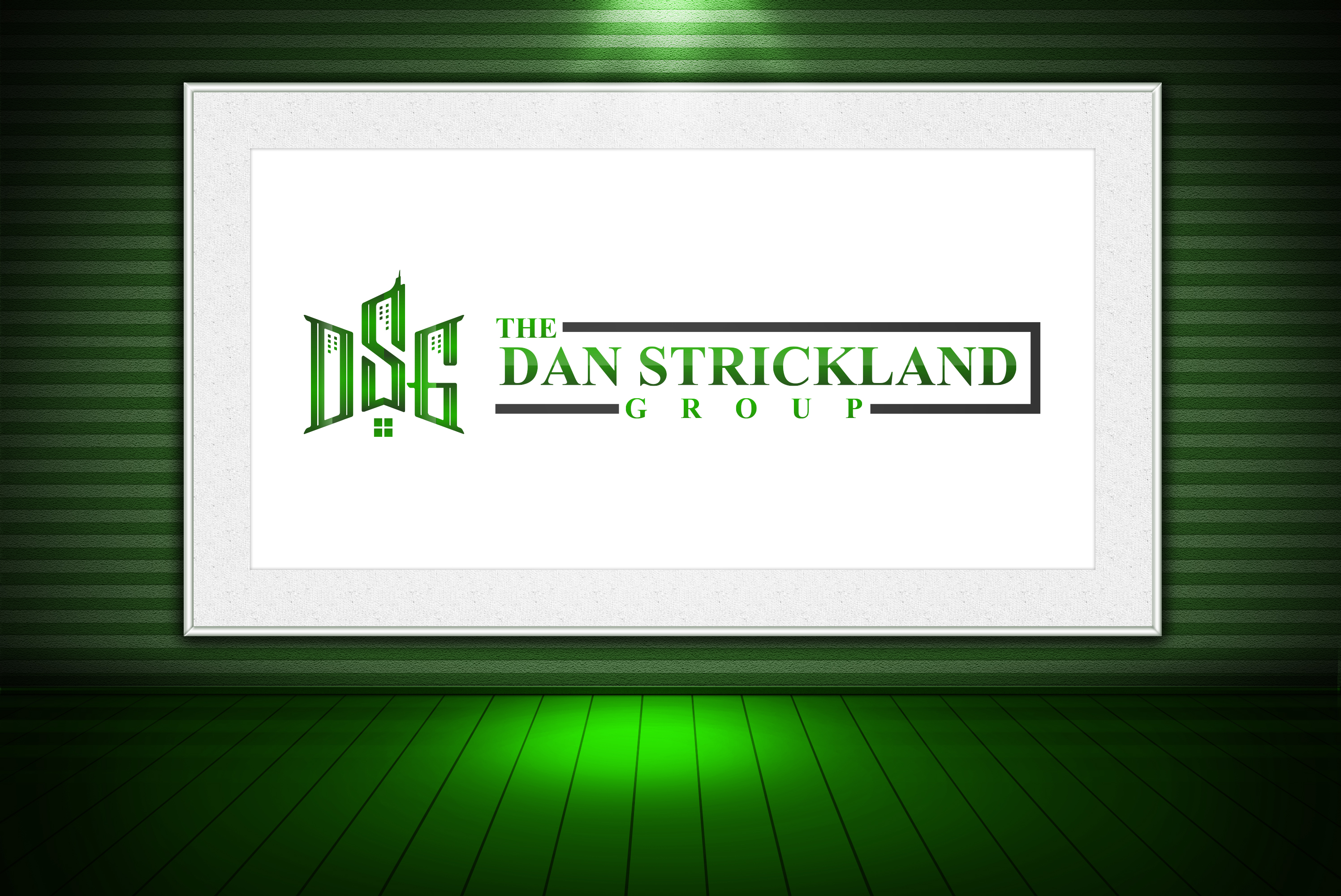 Logo Design by olii - Entry No. 332 in the Logo Design Contest Creative Logo Design for The Dan Strickland Group.