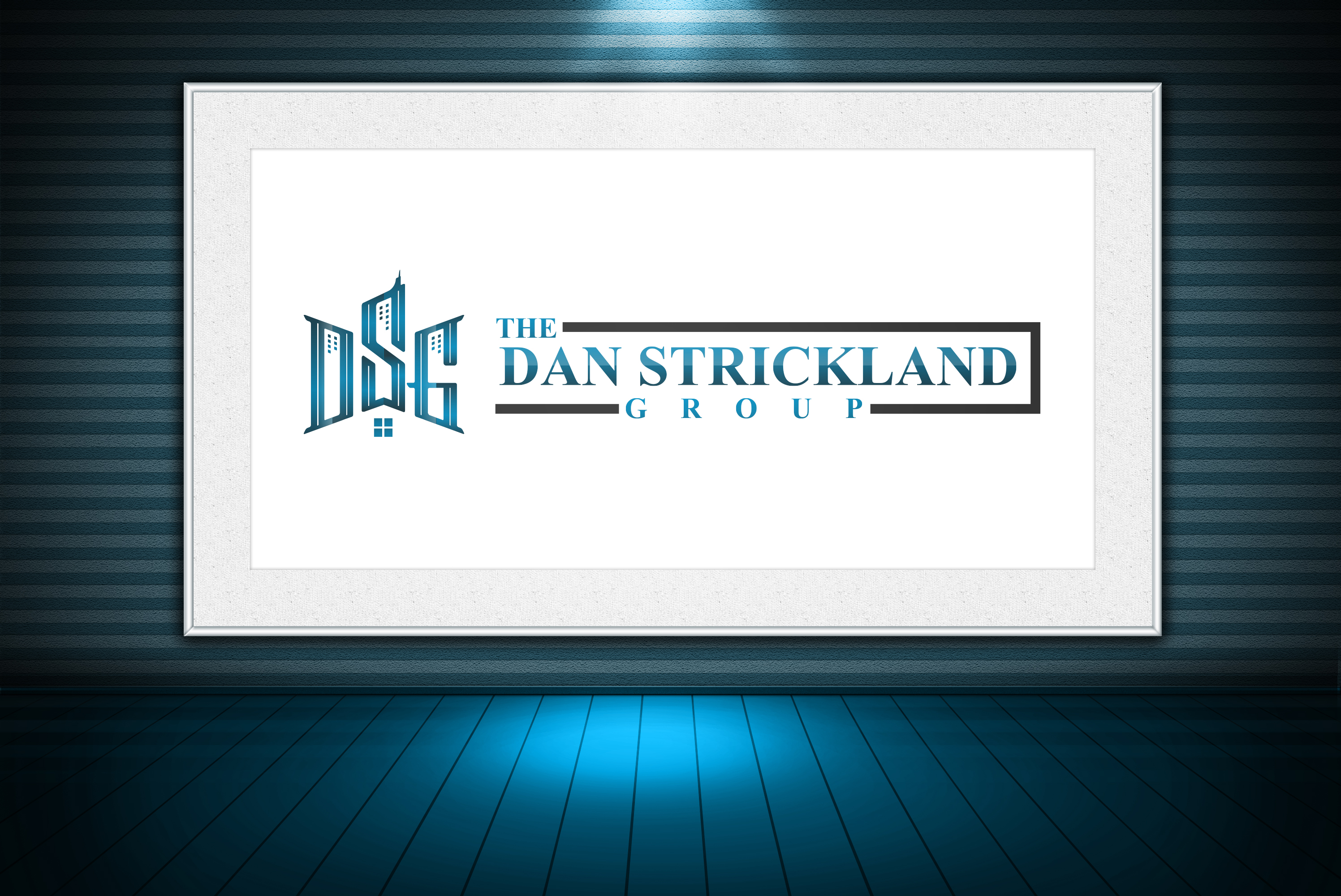 Logo Design by olii - Entry No. 333 in the Logo Design Contest Creative Logo Design for The Dan Strickland Group.