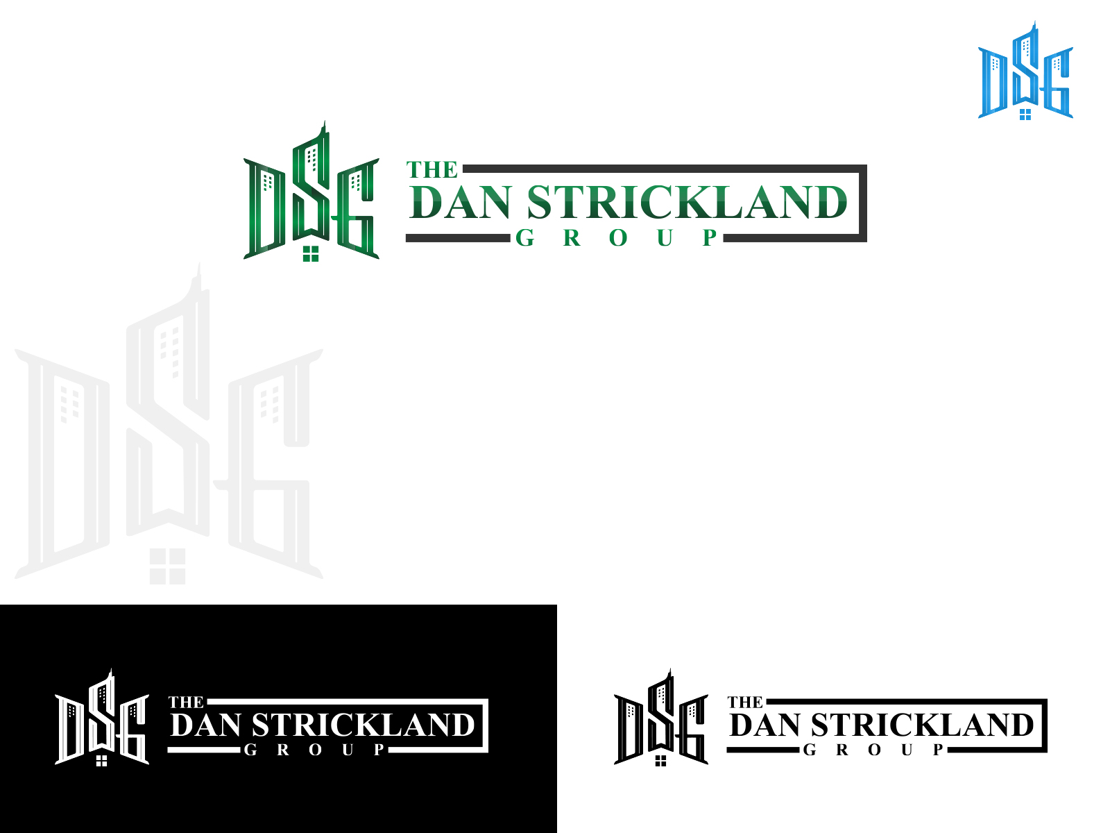 Logo Design by olii - Entry No. 334 in the Logo Design Contest Creative Logo Design for The Dan Strickland Group.
