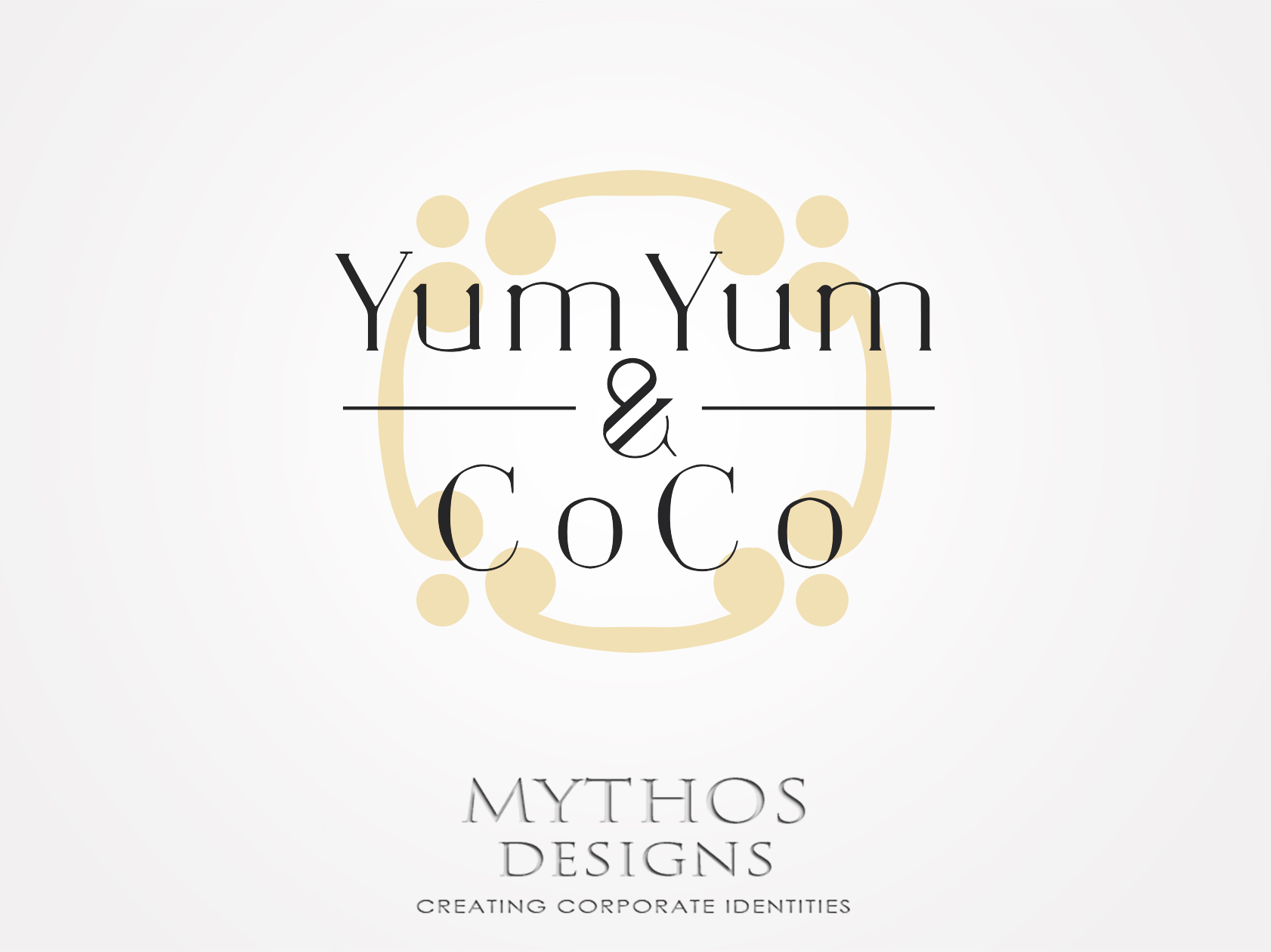 Logo Design by Mythos Designs - Entry No. 11 in the Logo Design Contest Logo Design for YumYum & CoCo.