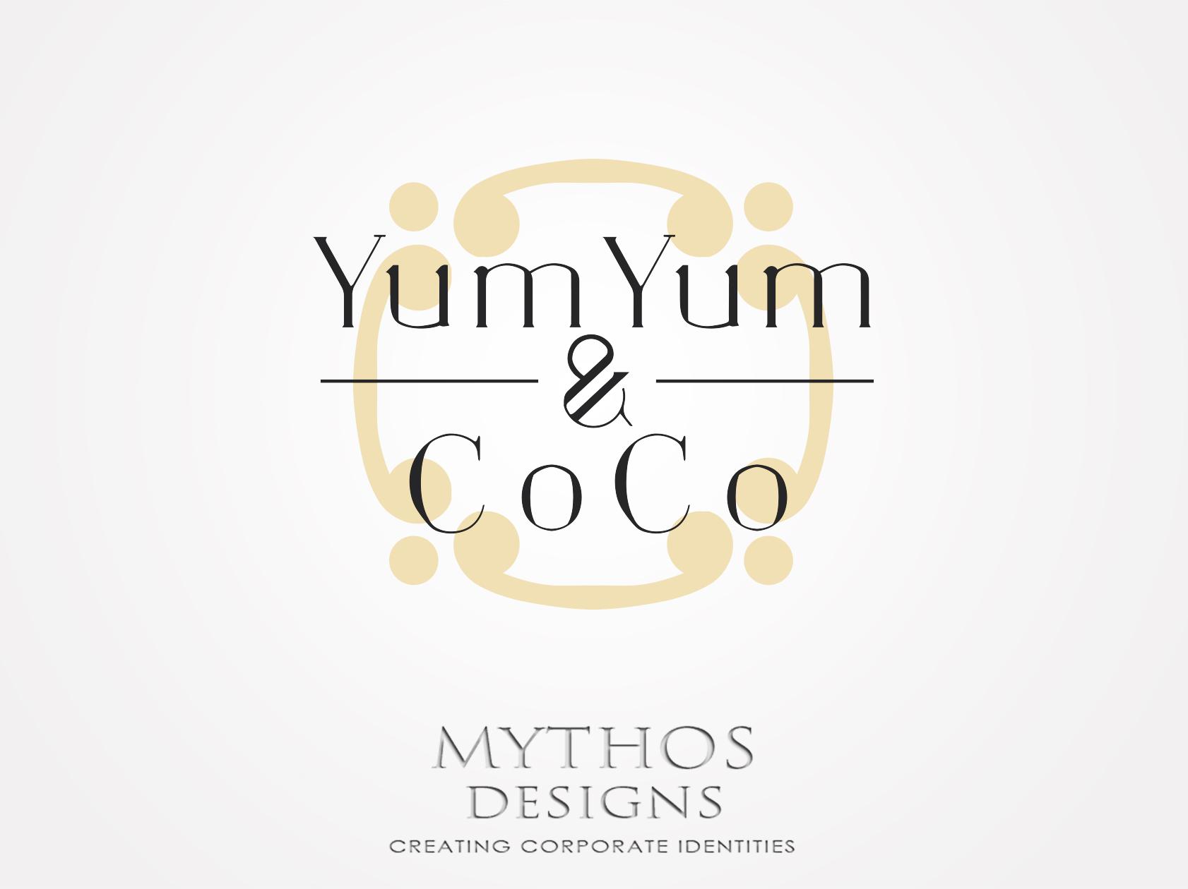 Logo Design by Mythos Designs - Entry No. 11 in the Logo Design Contest Logo Design for YumYum & CoCo.