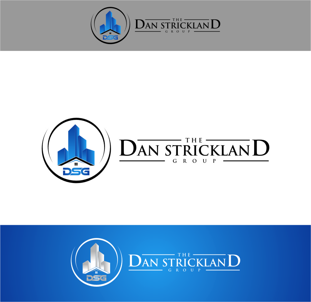 Logo Design by Ngepet_art - Entry No. 339 in the Logo Design Contest Creative Logo Design for The Dan Strickland Group.