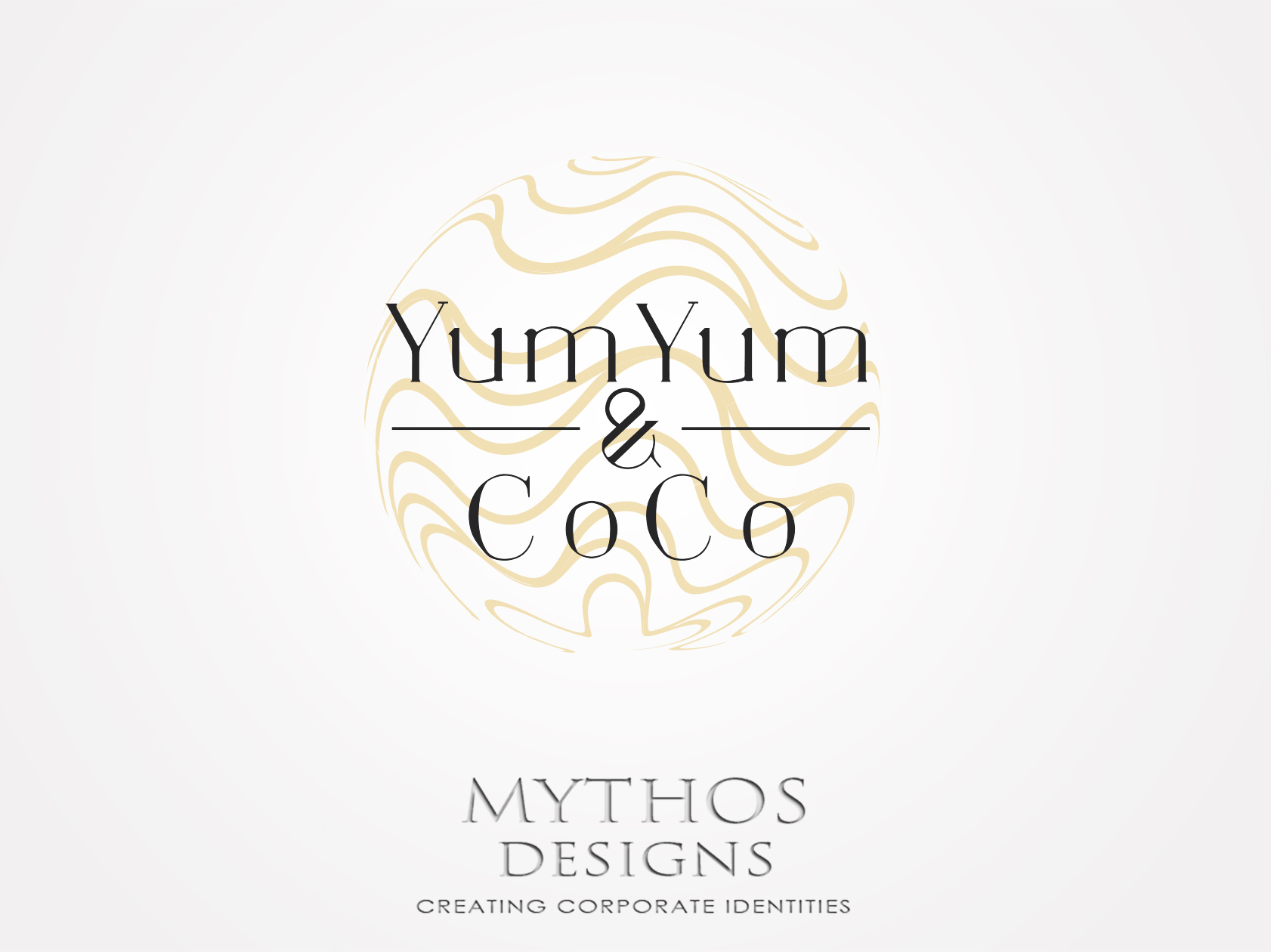 Logo Design by Mythos Designs - Entry No. 12 in the Logo Design Contest Logo Design for YumYum & CoCo.