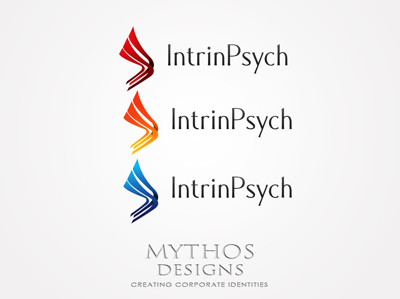 Logo Design by Mythos Designs - Entry No. 27 in the Logo Design Contest New Logo Design for IntrinPsych.