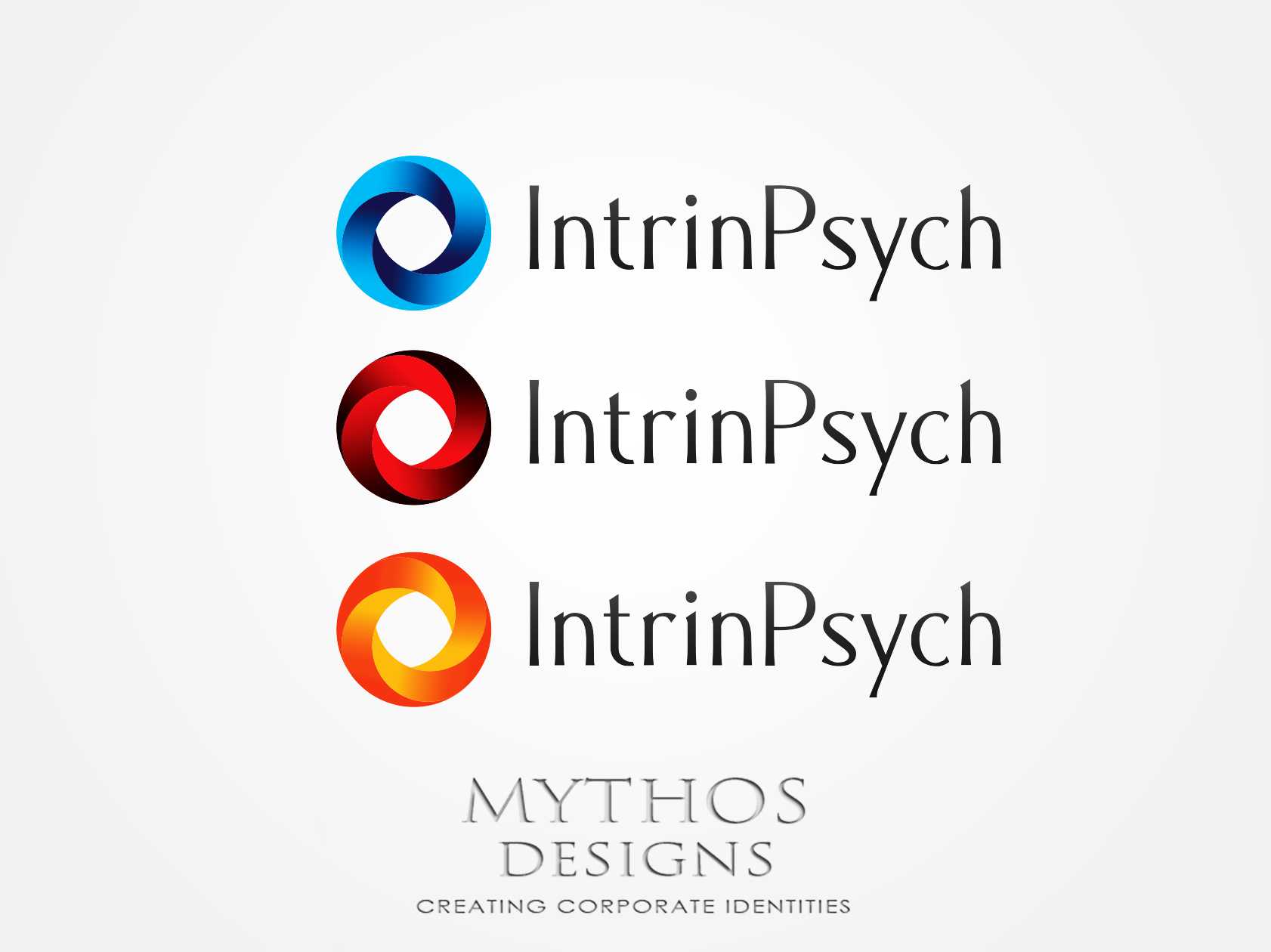 Logo Design by Mythos Designs - Entry No. 29 in the Logo Design Contest New Logo Design for IntrinPsych.