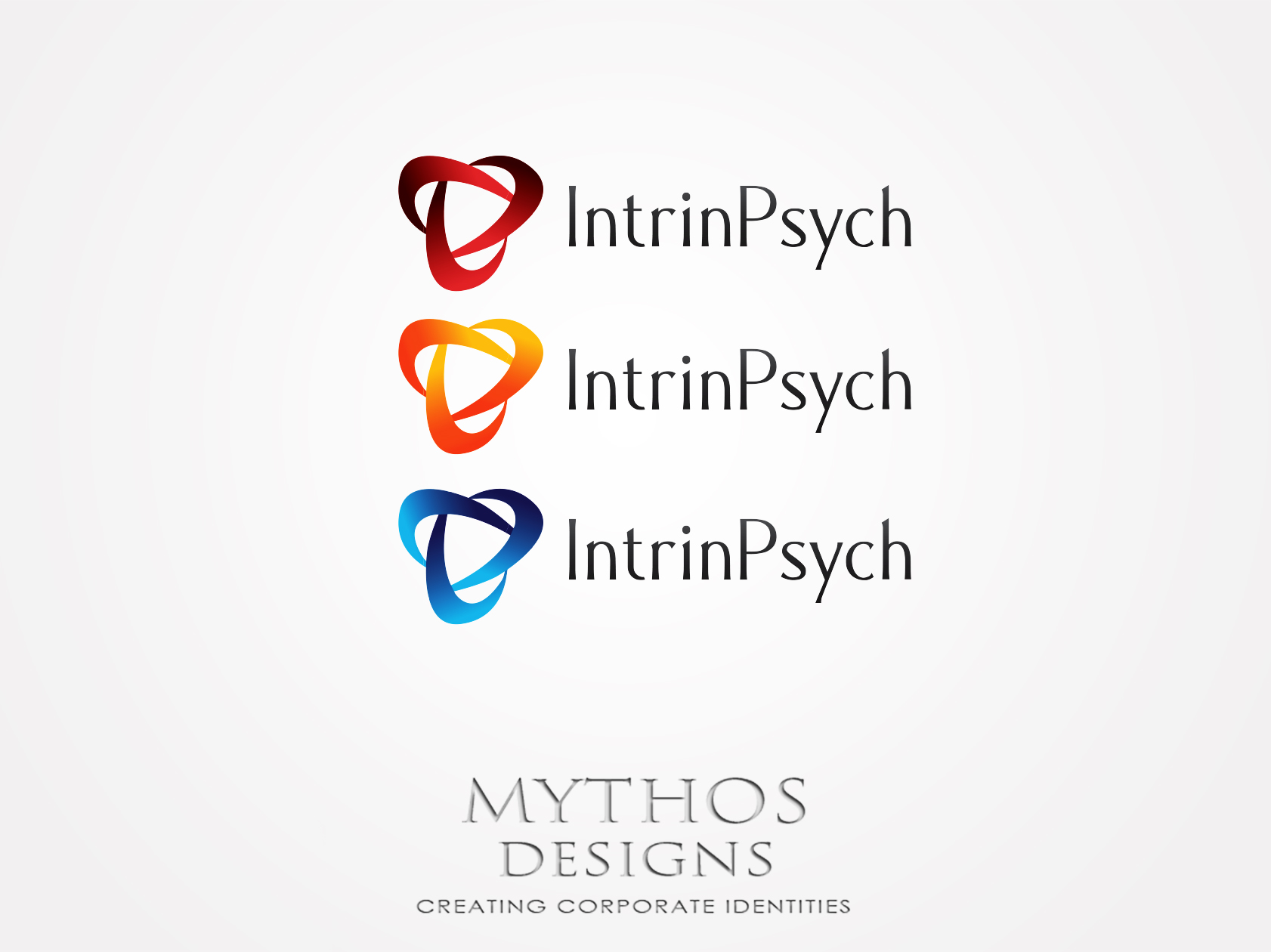 Logo Design by Mythos Designs - Entry No. 30 in the Logo Design Contest New Logo Design for IntrinPsych.