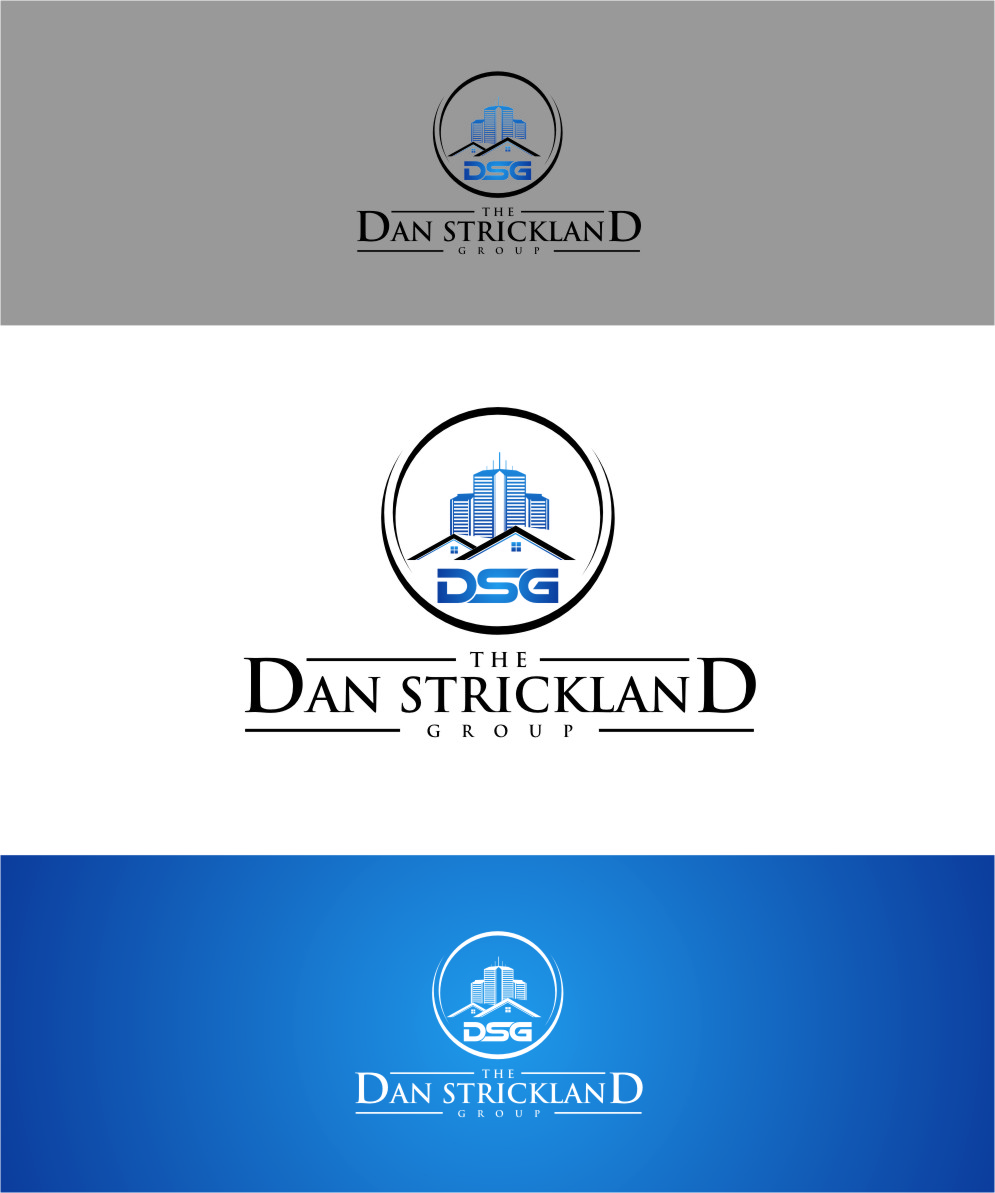 Logo Design by Ngepet_art - Entry No. 346 in the Logo Design Contest Creative Logo Design for The Dan Strickland Group.
