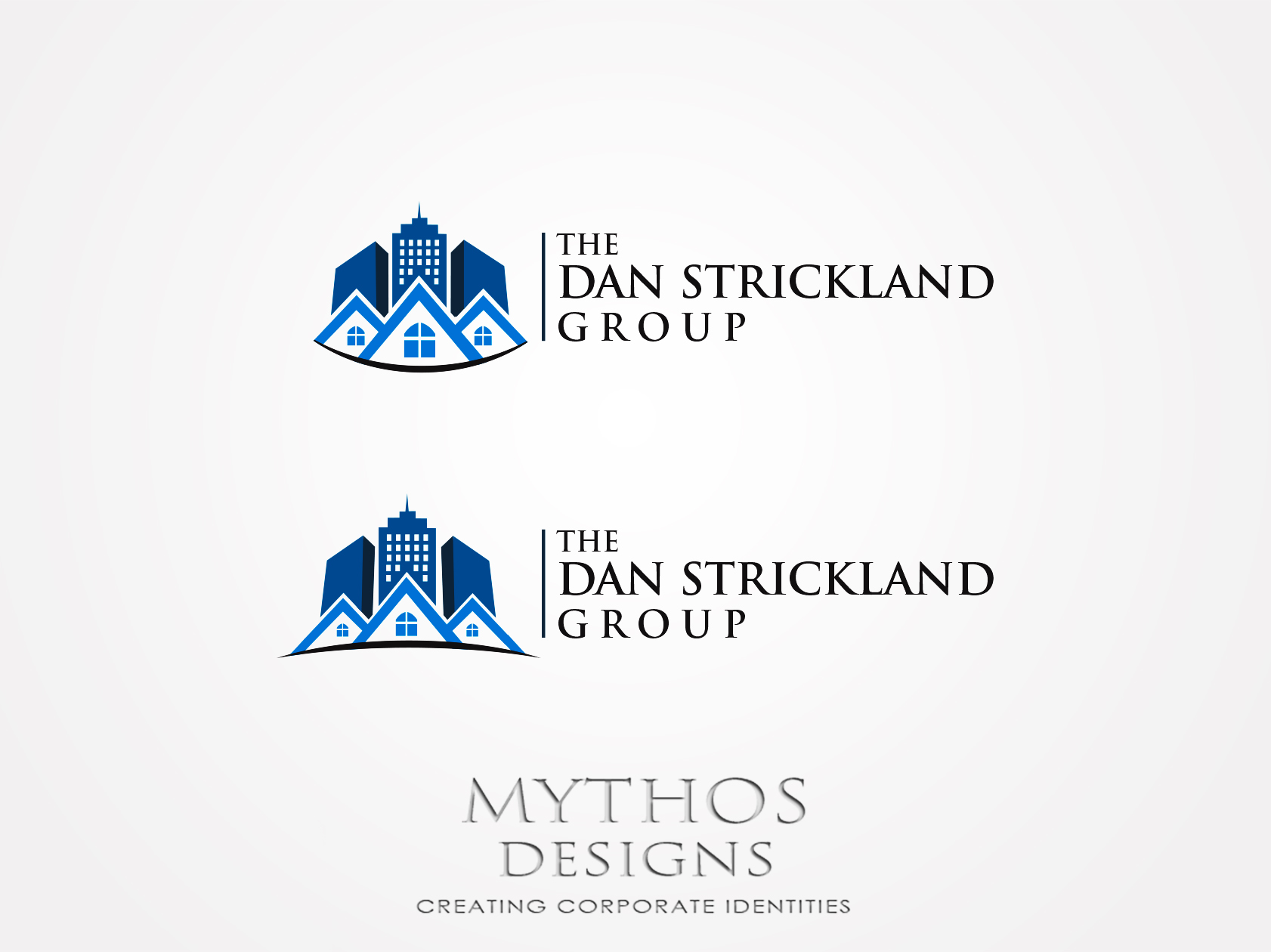 Logo Design by Mythos Designs - Entry No. 352 in the Logo Design Contest Creative Logo Design for The Dan Strickland Group.