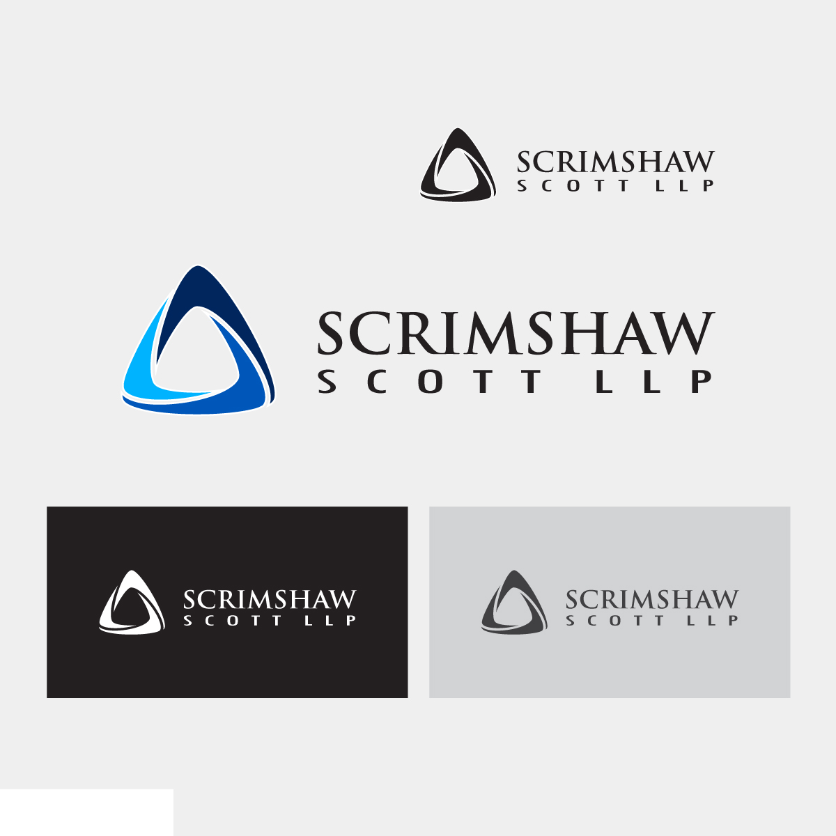 Logo Design by danelav - Entry No. 46 in the Logo Design Contest Creative Logo Design for Scrimshaw Scott LLP.