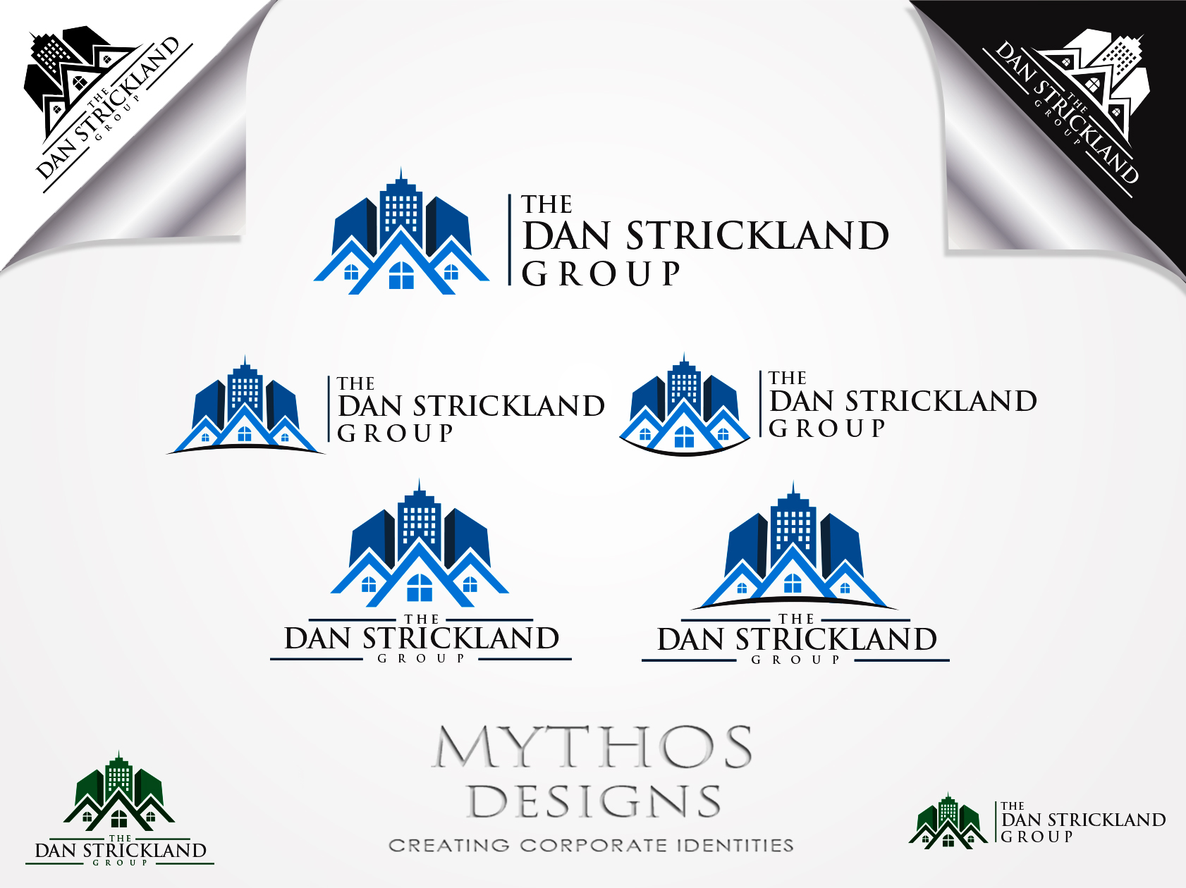Logo Design by Mythos Designs - Entry No. 354 in the Logo Design Contest Creative Logo Design for The Dan Strickland Group.