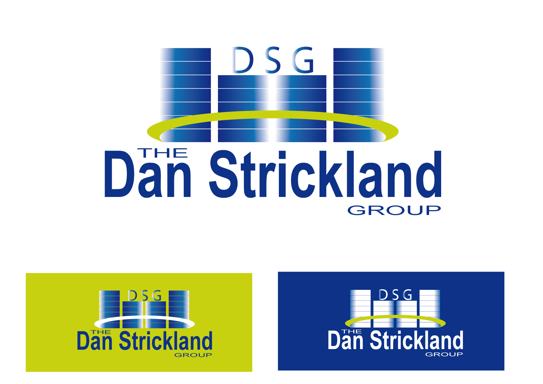 Logo Design by Kenan çete - Entry No. 355 in the Logo Design Contest Creative Logo Design for The Dan Strickland Group.