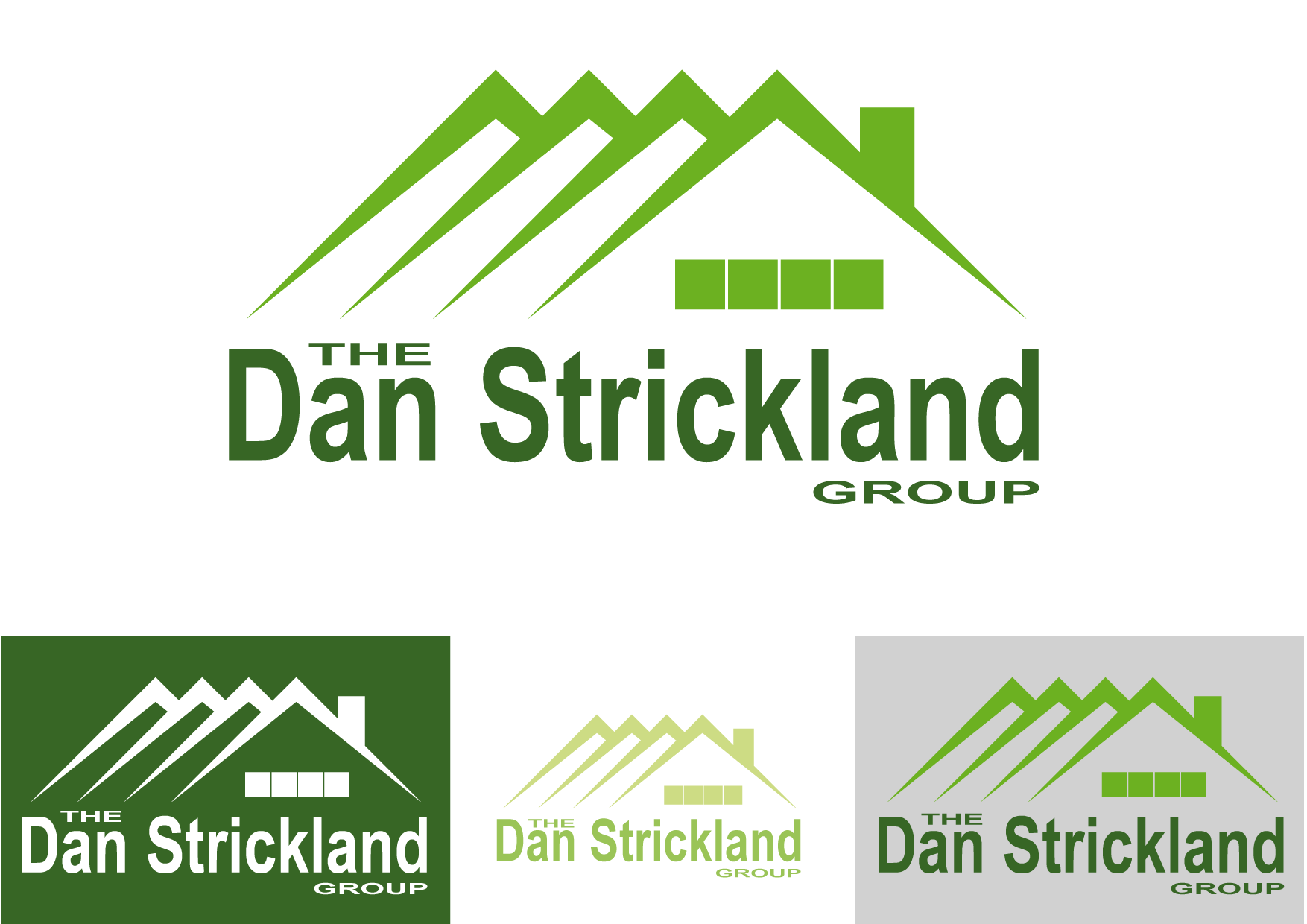 Logo Design by Kenan çete - Entry No. 356 in the Logo Design Contest Creative Logo Design for The Dan Strickland Group.