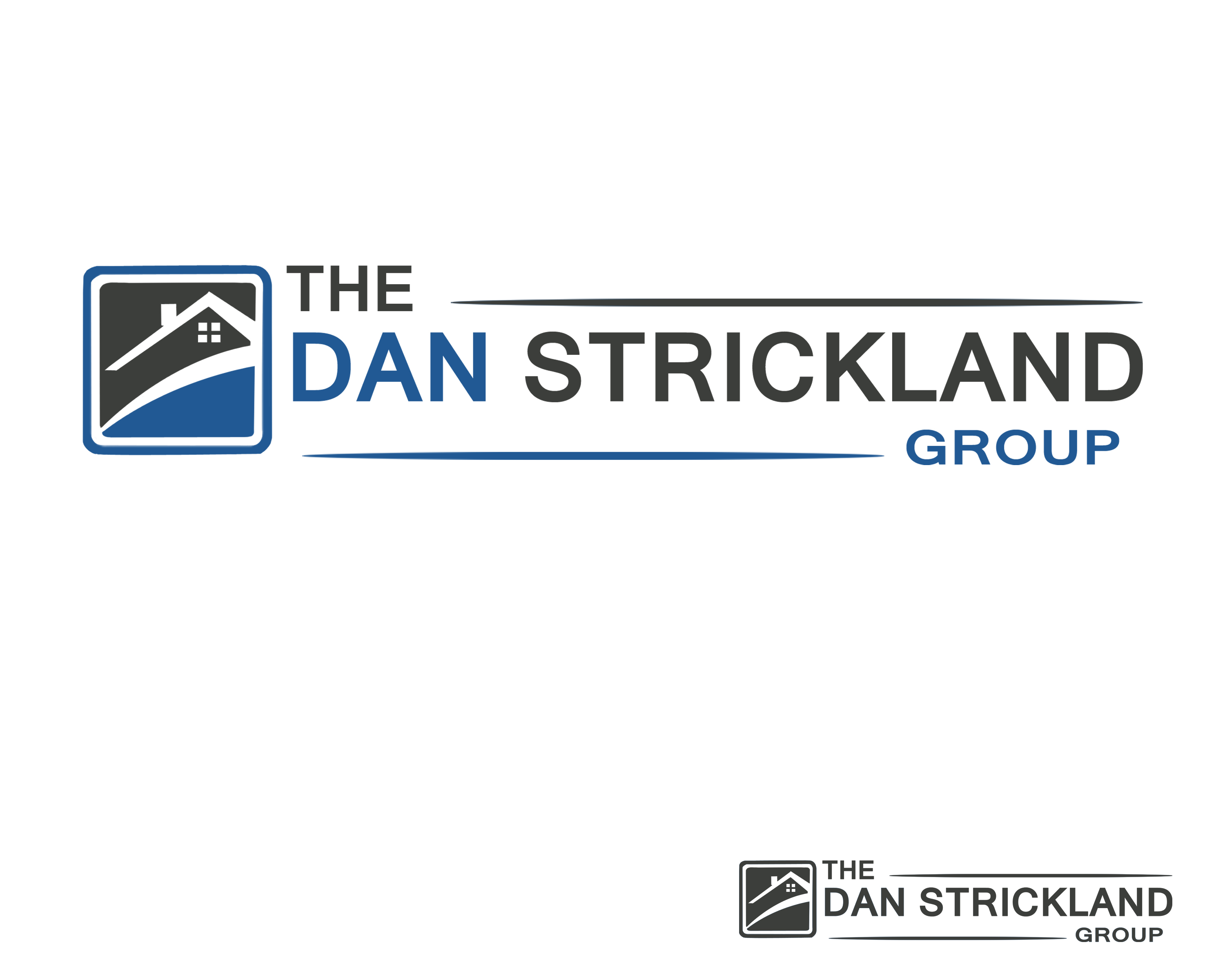 Logo Design by Jack Rajgor - Entry No. 367 in the Logo Design Contest Creative Logo Design for The Dan Strickland Group.