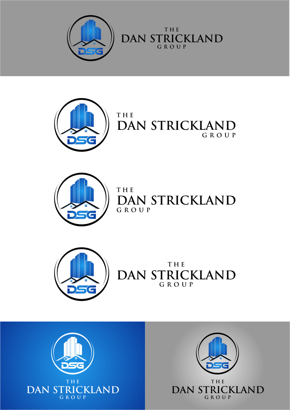 Logo Design by Ngepet_art - Entry No. 369 in the Logo Design Contest Creative Logo Design for The Dan Strickland Group.