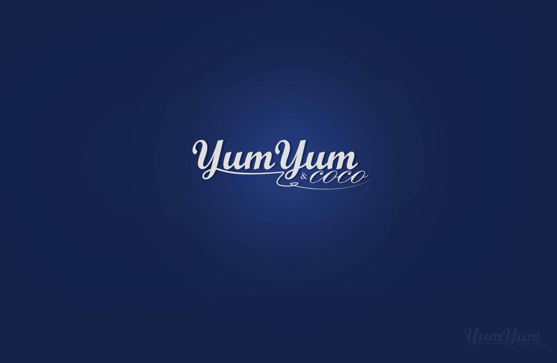 Logo Design by Jan Chua - Entry No. 15 in the Logo Design Contest Logo Design for YumYum & CoCo.