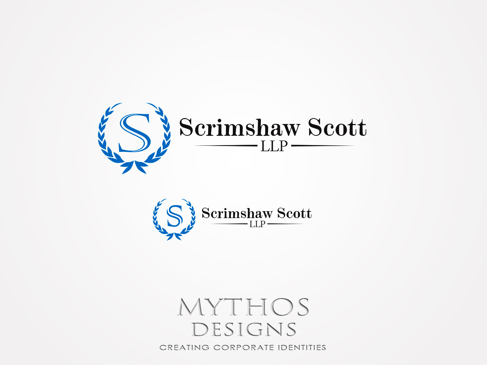 Logo Design by Mythos Designs - Entry No. 55 in the Logo Design Contest Creative Logo Design for Scrimshaw Scott LLP.