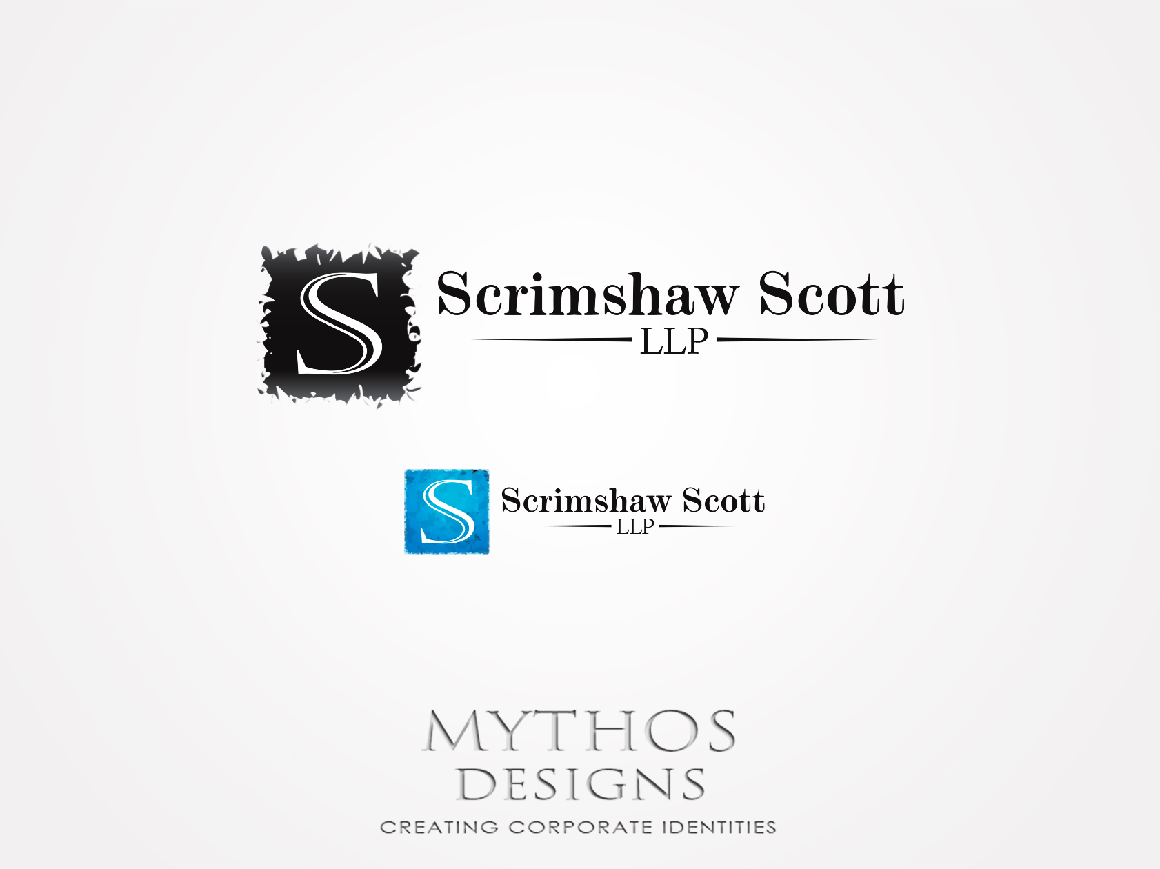 Logo Design by Mythos Designs - Entry No. 56 in the Logo Design Contest Creative Logo Design for Scrimshaw Scott LLP.