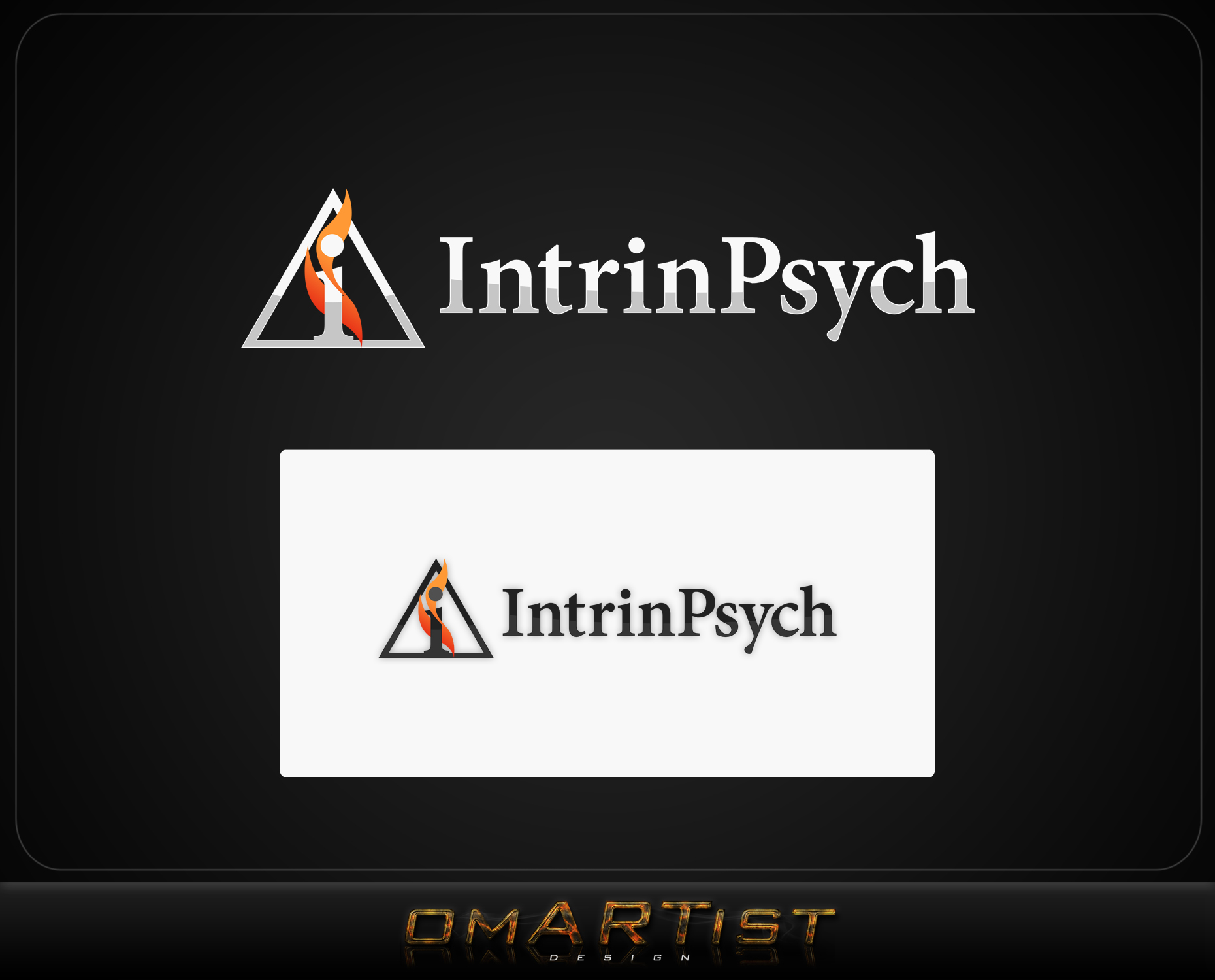 Logo Design by omARTist - Entry No. 40 in the Logo Design Contest New Logo Design for IntrinPsych.
