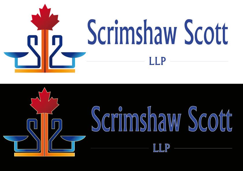 Logo Design by Kenan çete - Entry No. 61 in the Logo Design Contest Creative Logo Design for Scrimshaw Scott LLP.
