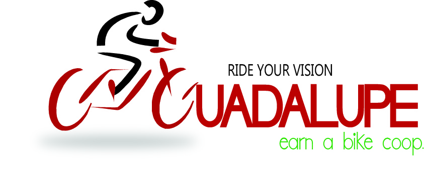 Logo Design by lde05 - Entry No. 44 in the Logo Design Contest Inspiring Logo Design for Guadalupe Earn a Bike Coop..