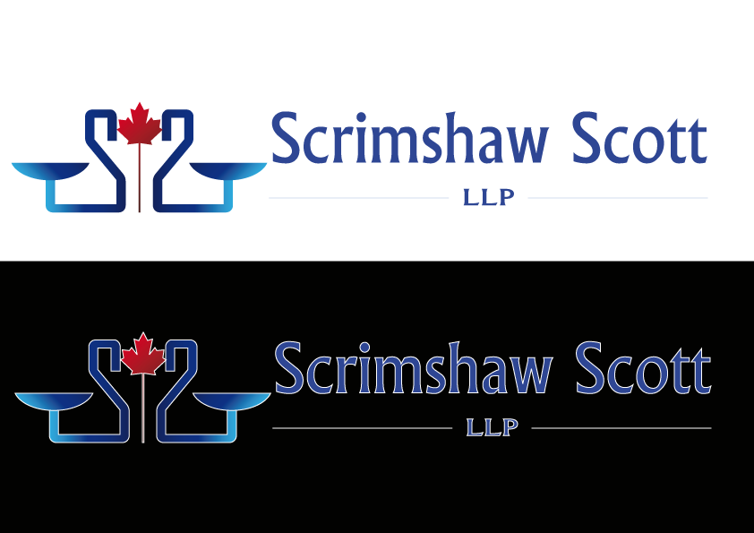 Logo Design by Kenan çete - Entry No. 71 in the Logo Design Contest Creative Logo Design for Scrimshaw Scott LLP.