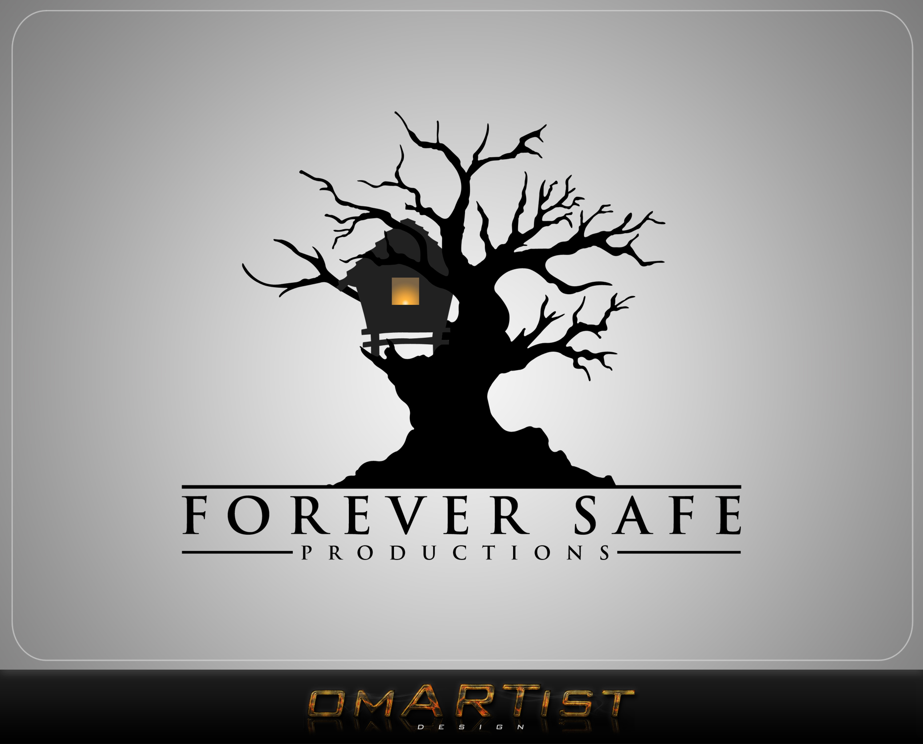 Logo Design by omARTist - Entry No. 20 in the Logo Design Contest Inspiring Logo Design for Forever Safe Productions.