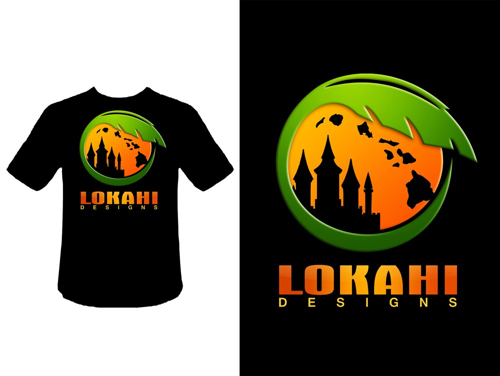 Logo Design by Respati Himawan - Entry No. 15 in the Logo Design Contest Unique Logo Design Wanted for LOKAHI DESIGNS.