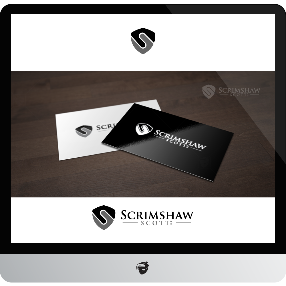 Logo Design by zesthar - Entry No. 75 in the Logo Design Contest Creative Logo Design for Scrimshaw Scott LLP.