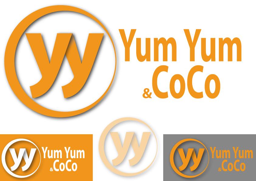 Logo Design by Kenan çete - Entry No. 20 in the Logo Design Contest Logo Design for YumYum & CoCo.